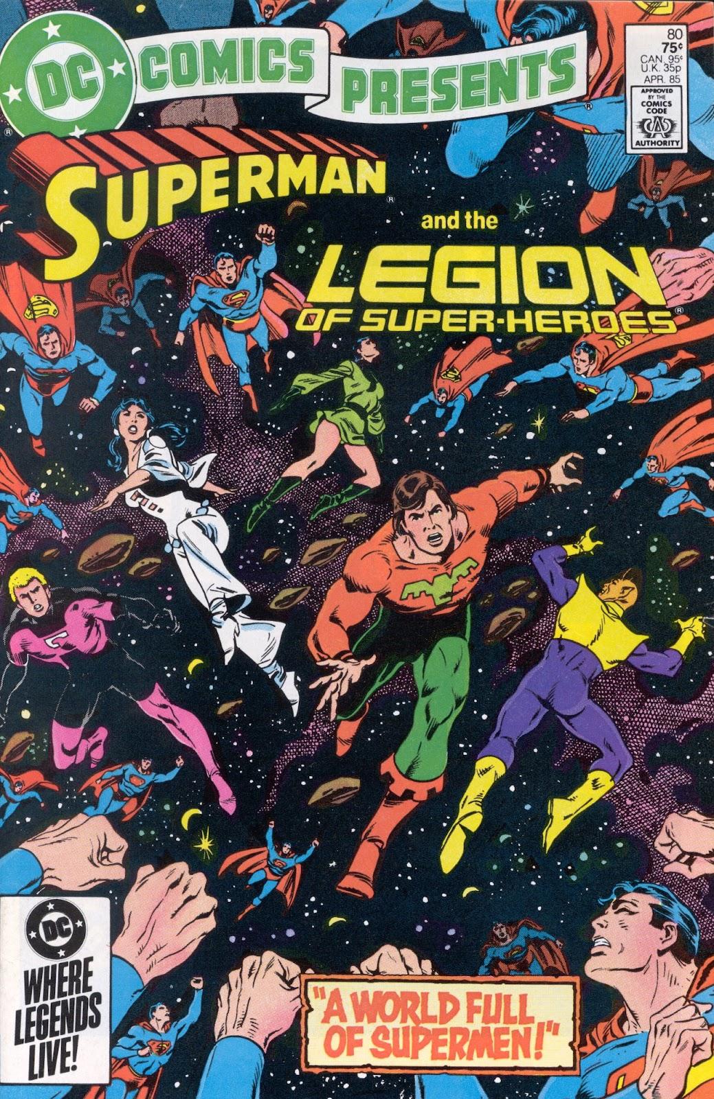 DC Comics Presents (1978) 80 Page 1