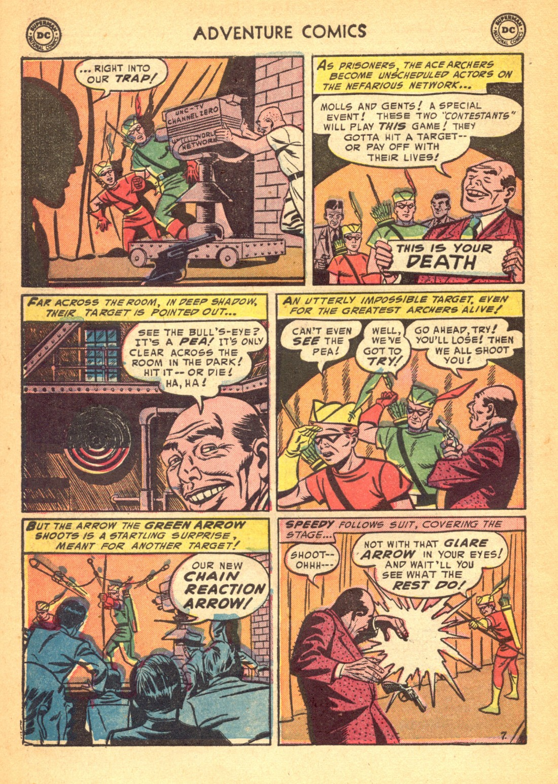 Read online Adventure Comics (1938) comic -  Issue #202 - 40