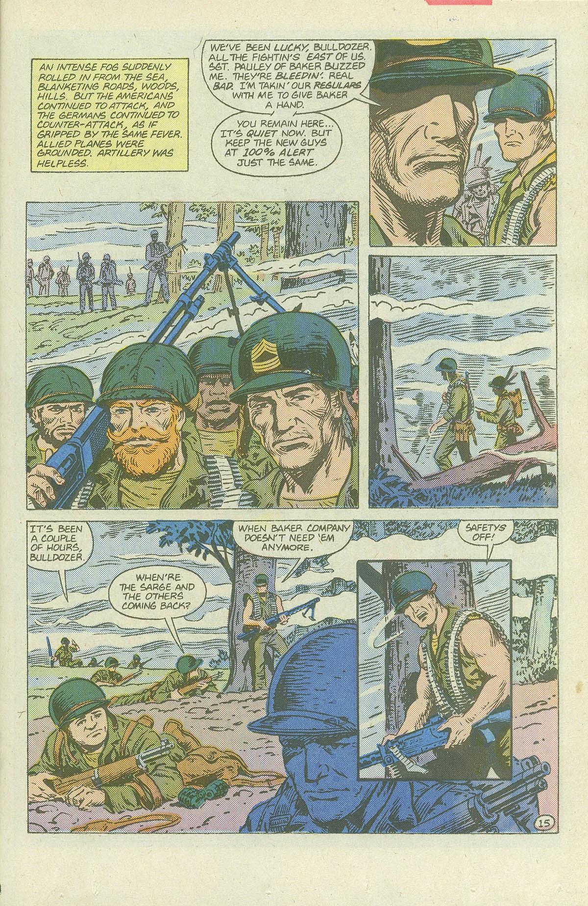 Read online Sgt. Rock comic -  Issue #420 - 20