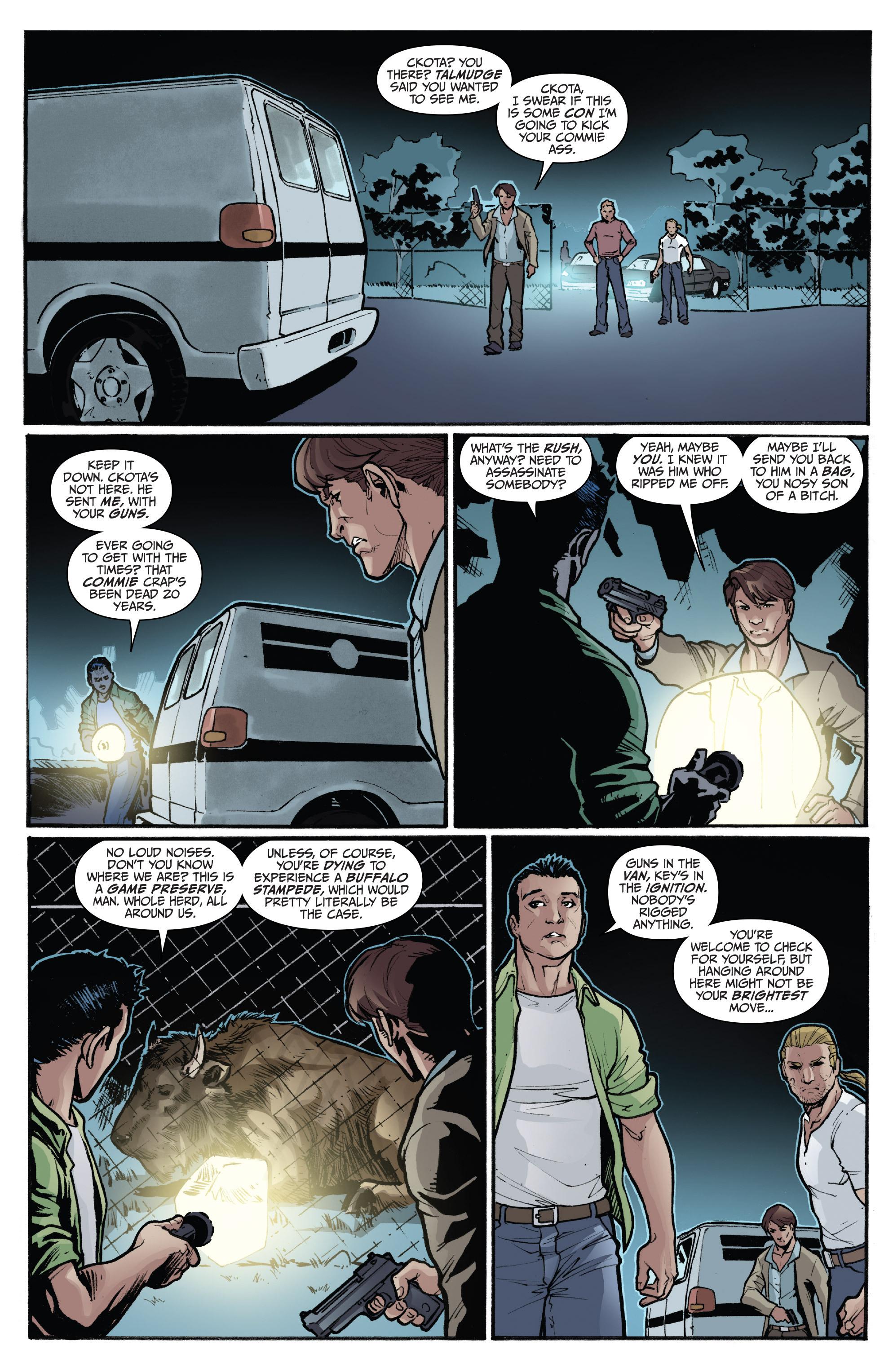 Read online 3 Guns comic -  Issue #5 - 19