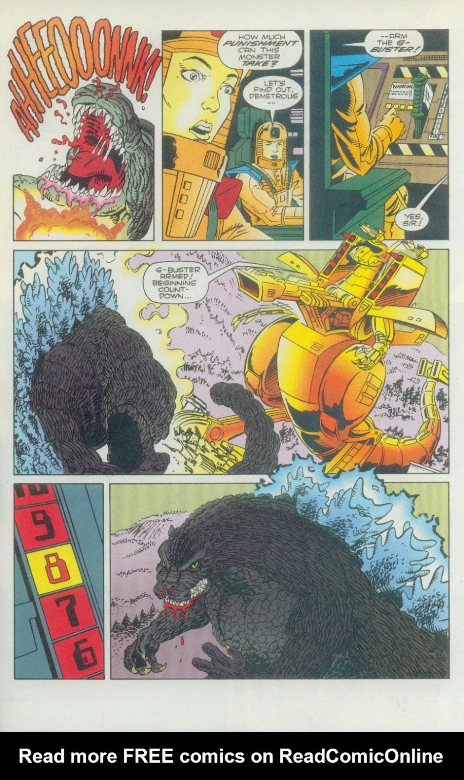 Godzilla (1995) Issue #2 #3 - English 24