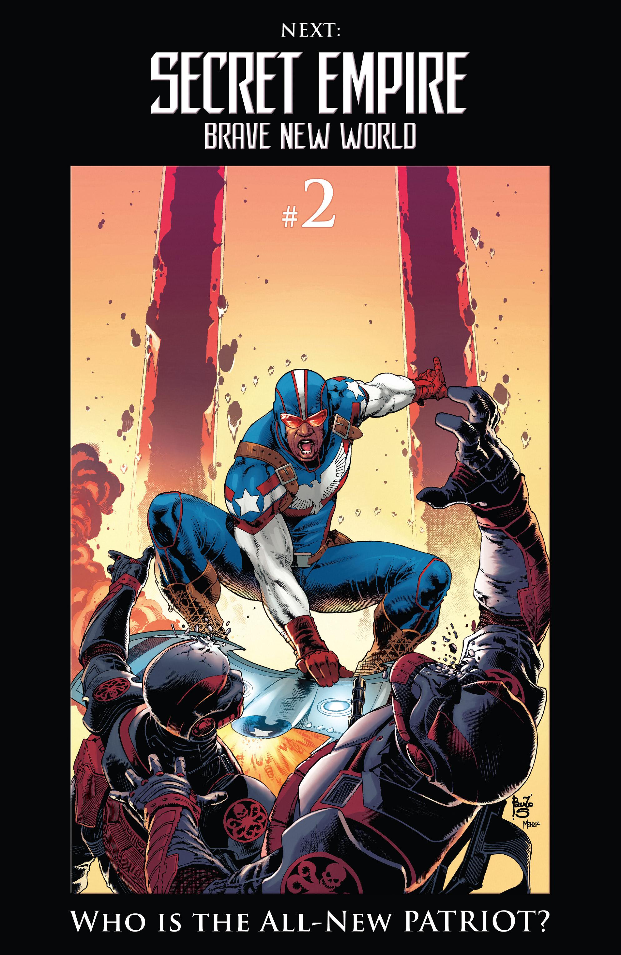 Read online Secret Empire: Brave New World comic -  Issue #1 - 22