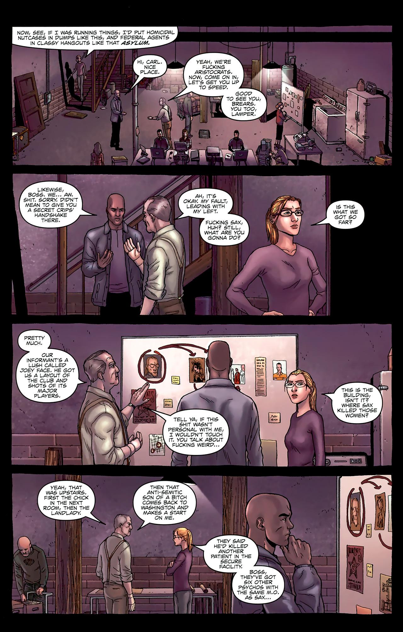 Read online Alan Moore's Neonomicon comic -  Issue #1 - 21