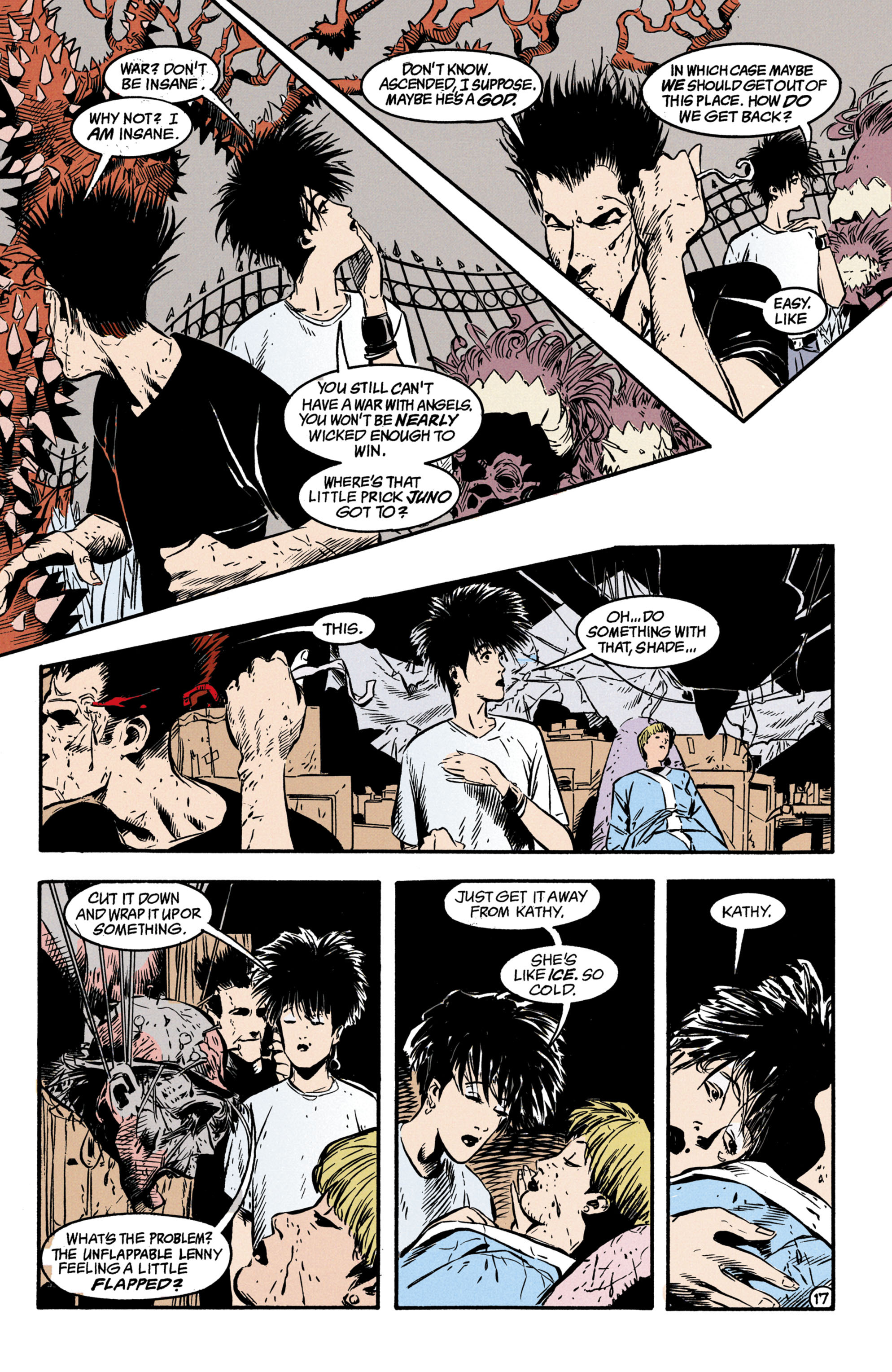 Read online Shade, the Changing Man comic -  Issue #35 - 18
