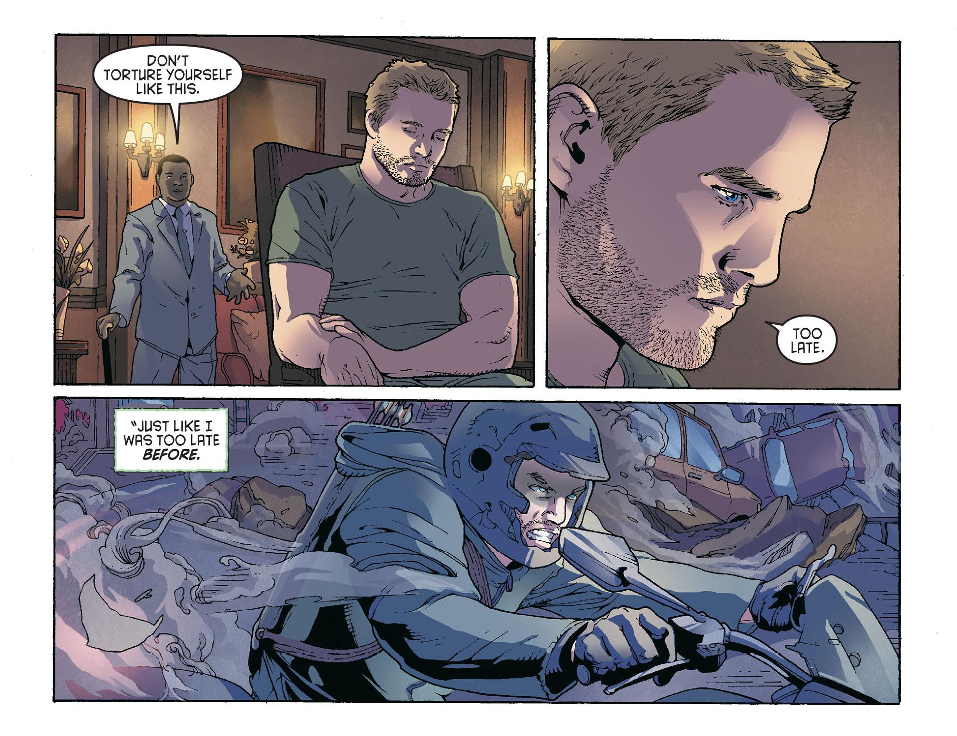 Read online Arrow [II] comic -  Issue #36 - 19