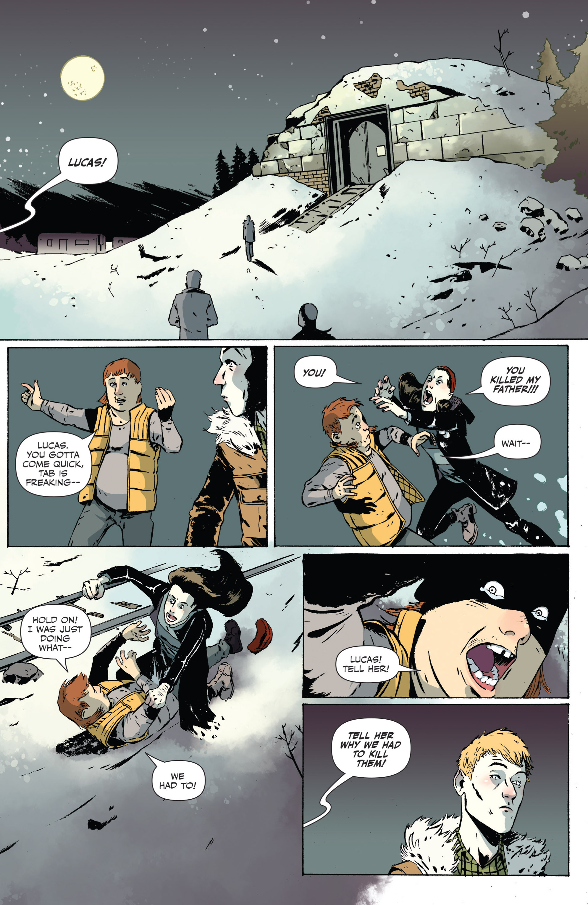 Read online Sheltered comic -  Issue #2 - 19