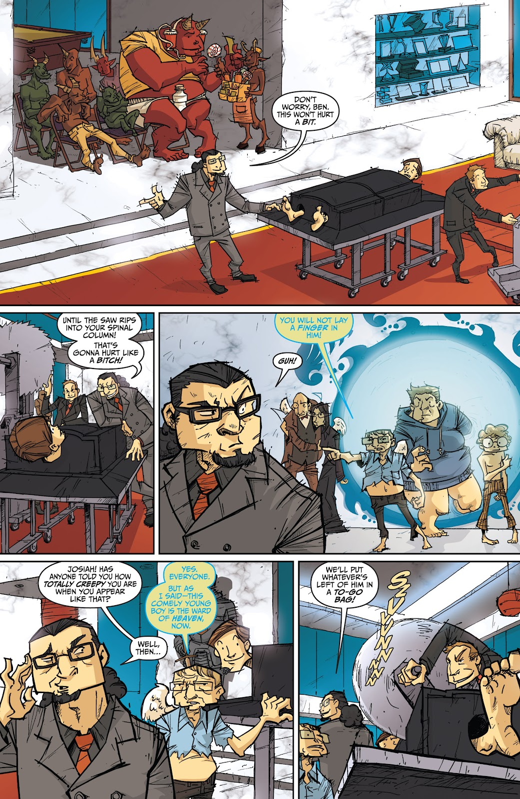 Read online The End Times of Bram and Ben comic -  Issue #4 - 9