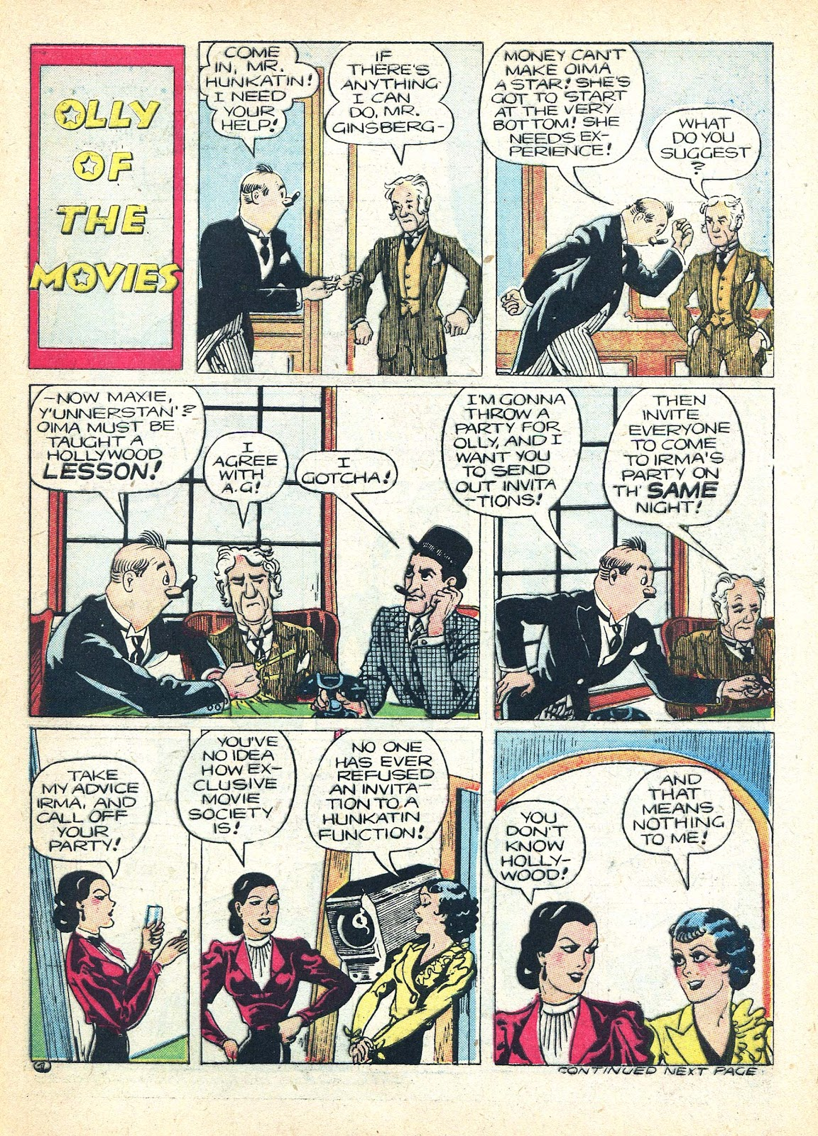 Read online Famous Funnies comic -  Issue #95 - 56
