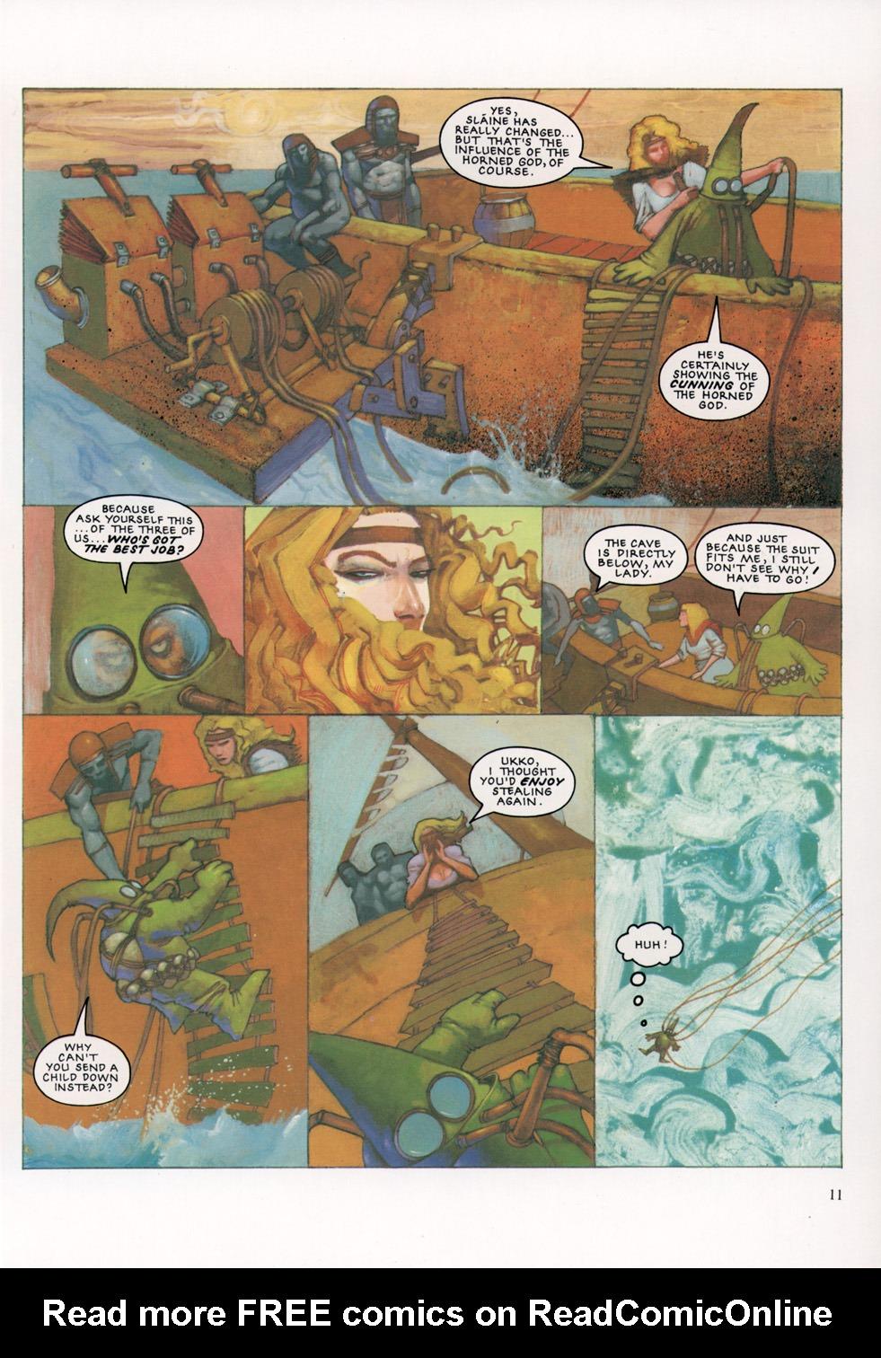 Read online Slaine: The Horned God (1993) comic -  Issue #4 - 12