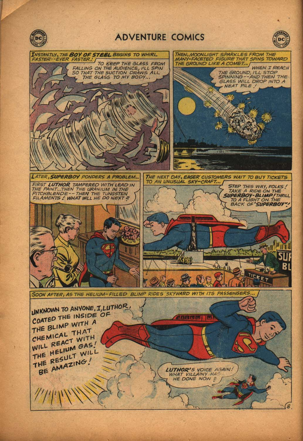Read online Adventure Comics (1938) comic -  Issue #292 - 10