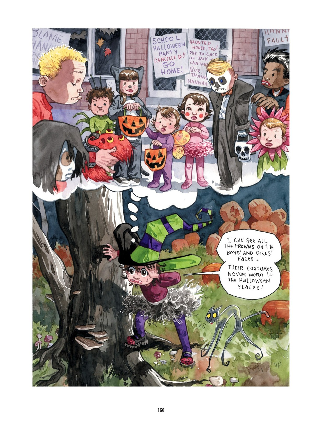 Read online Scary Godmother comic -  Issue # TPB - 160