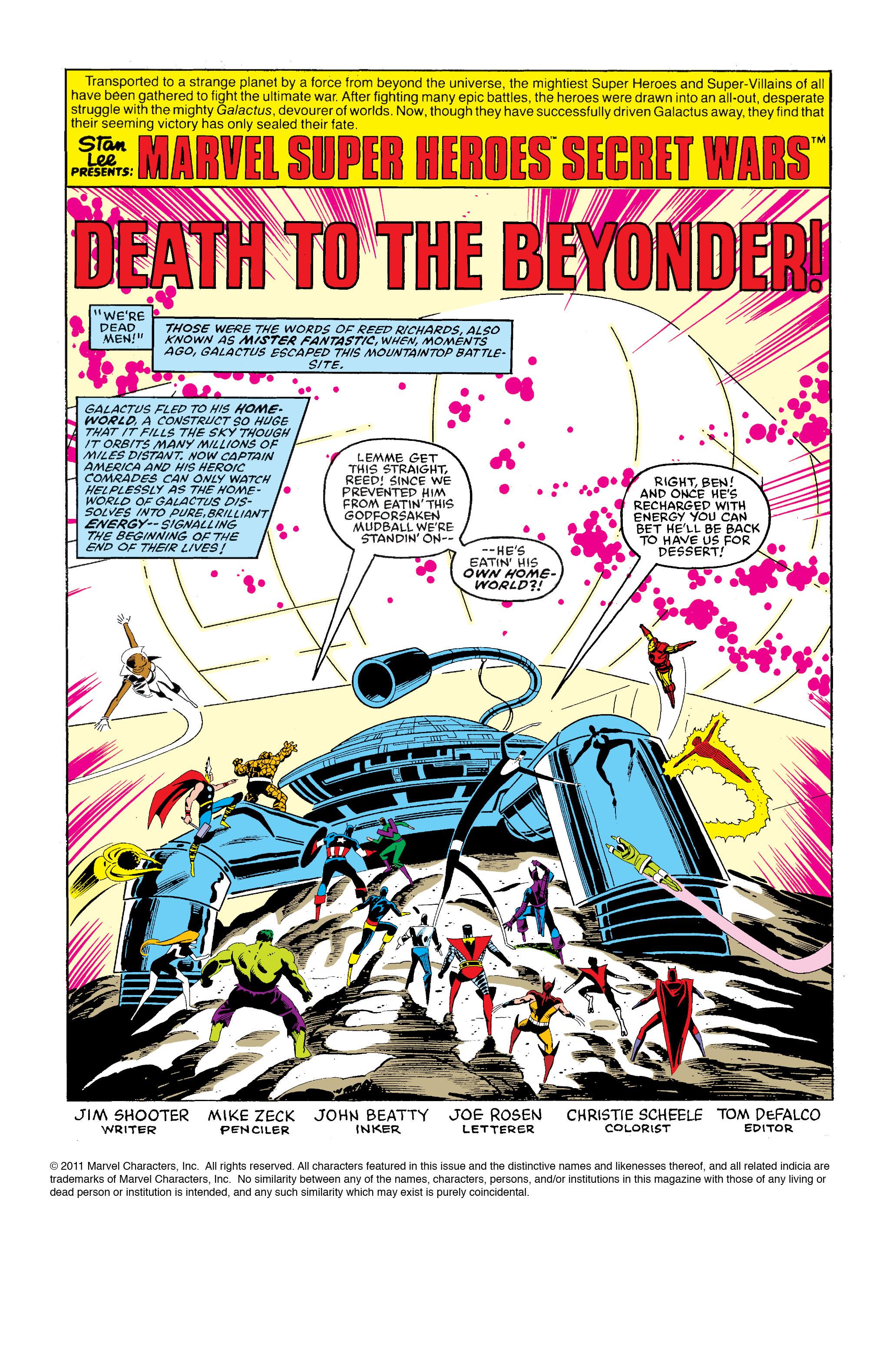 Read online Secret Wars Prelude comic -  Issue # Full - 4
