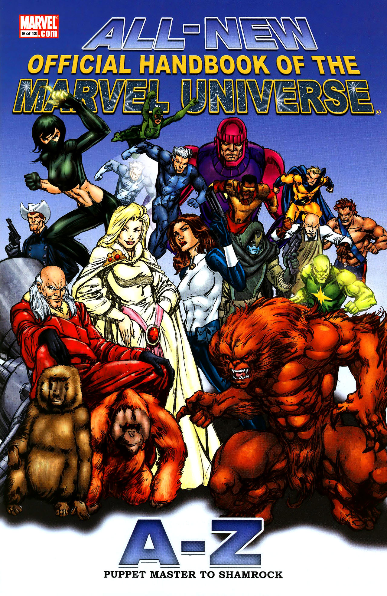 Read online All-New Official Handbook of the Marvel Universe A to Z comic -  Issue #9 - 1