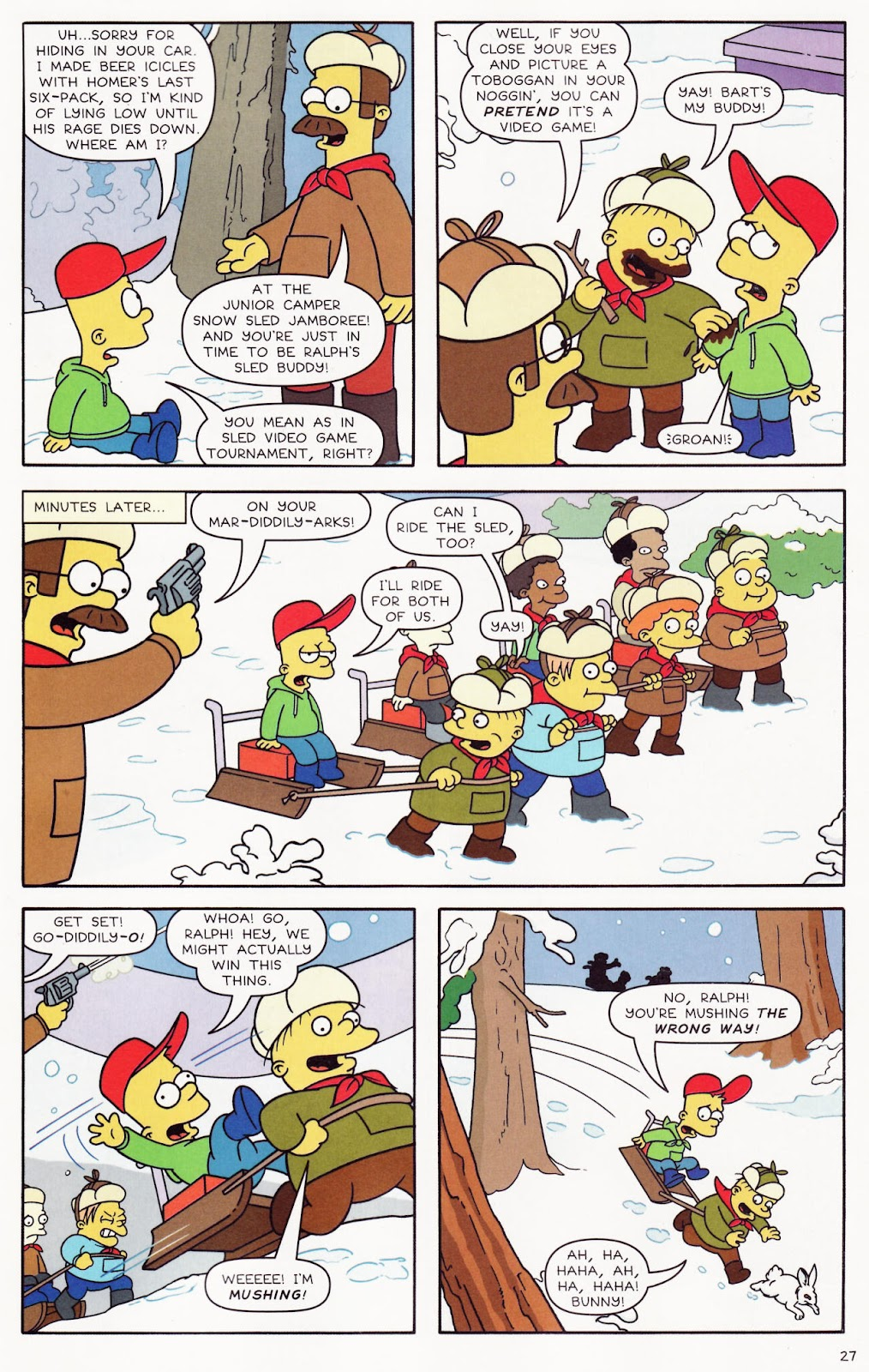 Read online The Simpsons Winter Wingding comic -  Issue #2 - 28