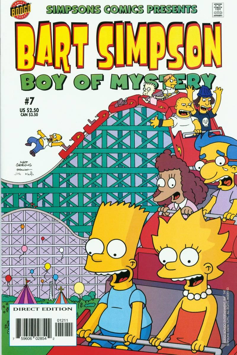 Simpsons Comics Presents Bart Simpson 7 Page 1