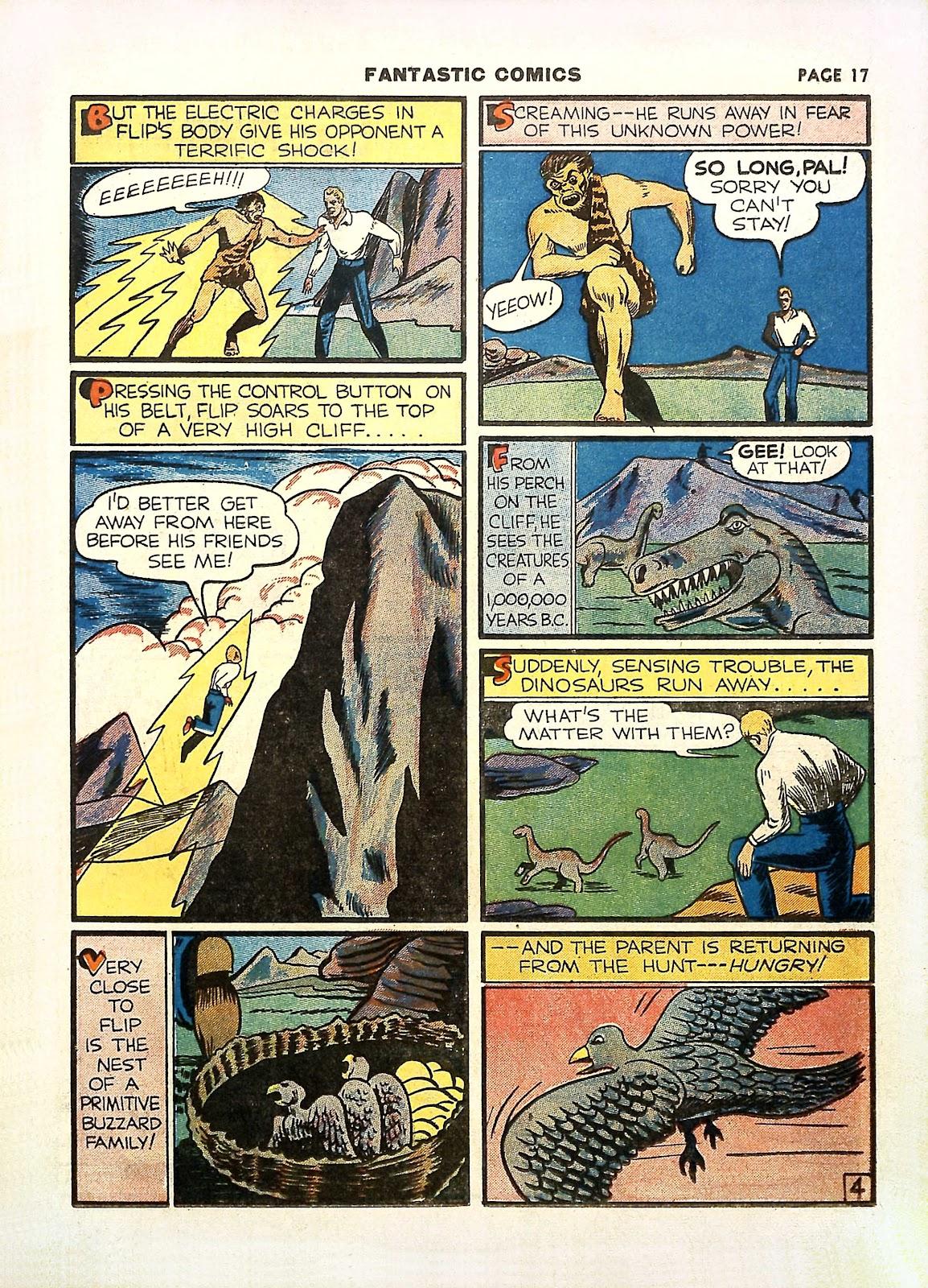 Read online Fantastic Comics comic -  Issue #11 - 20