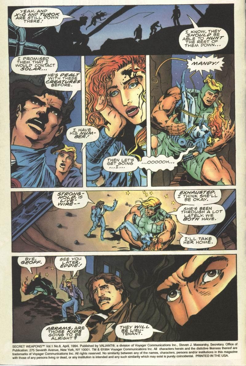 Read online Secret Weapons comic -  Issue #8 - 3