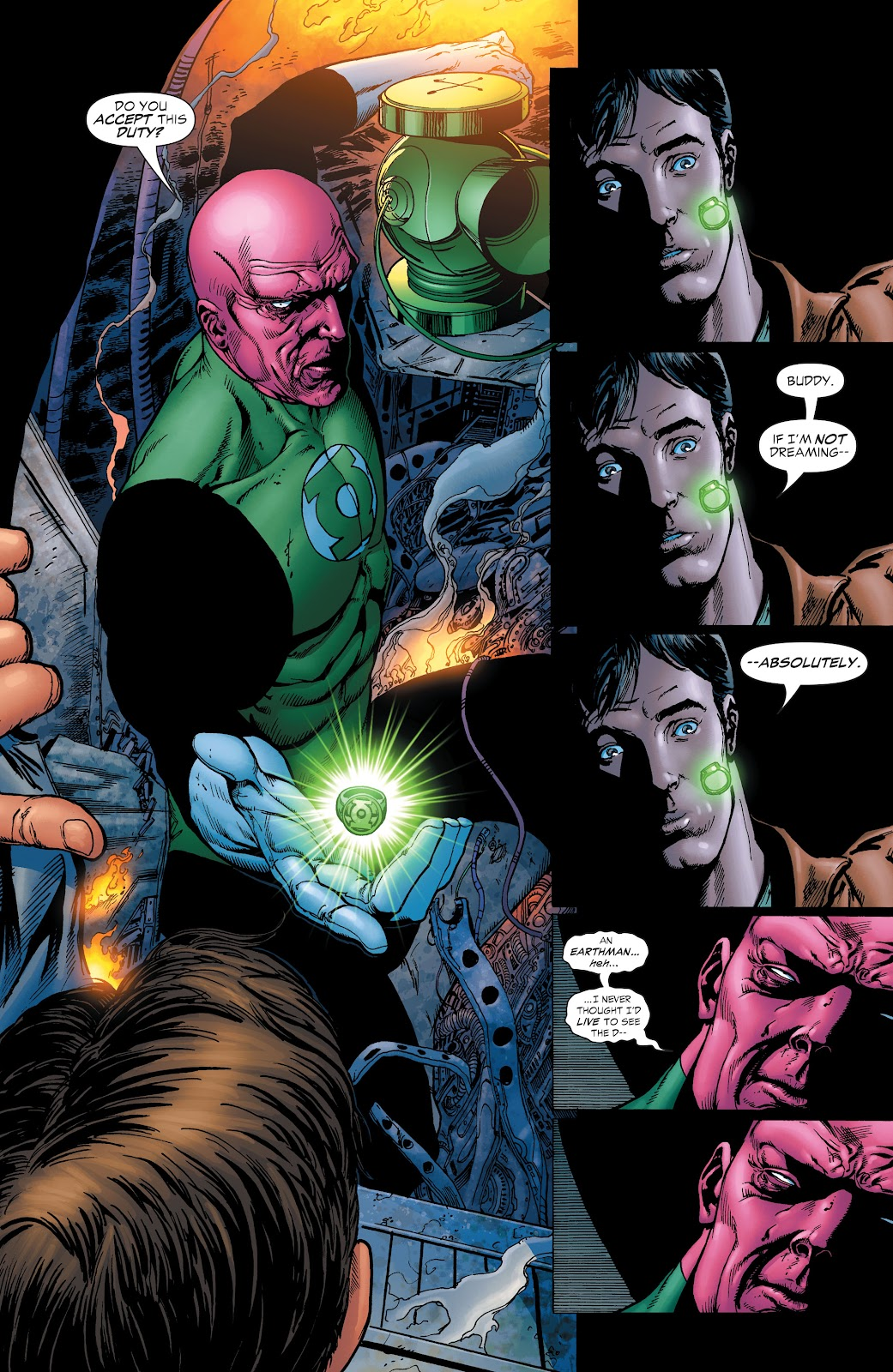 Read online Green Lantern by Geoff Johns comic -  Issue # TPB 1 (Part 3) - 99