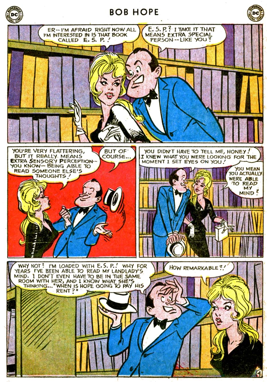 The Adventures of Bob Hope issue 77 - Page 6