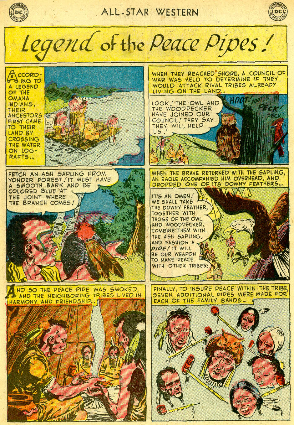 Read online All-Star Western (1951) comic -  Issue #68 - 18