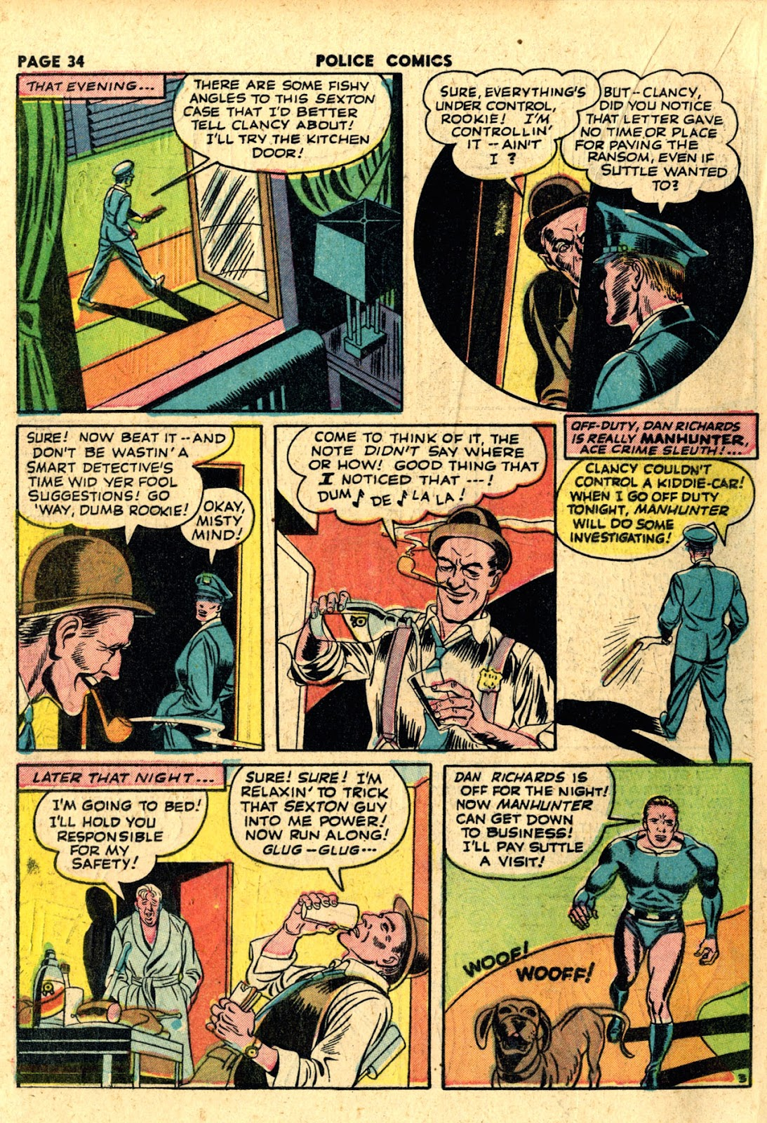 Police Comics issue 19 - Page 36