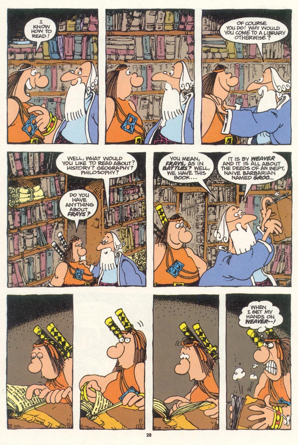 Read online Sergio Aragonés Groo the Wanderer comic -  Issue #100 - 29