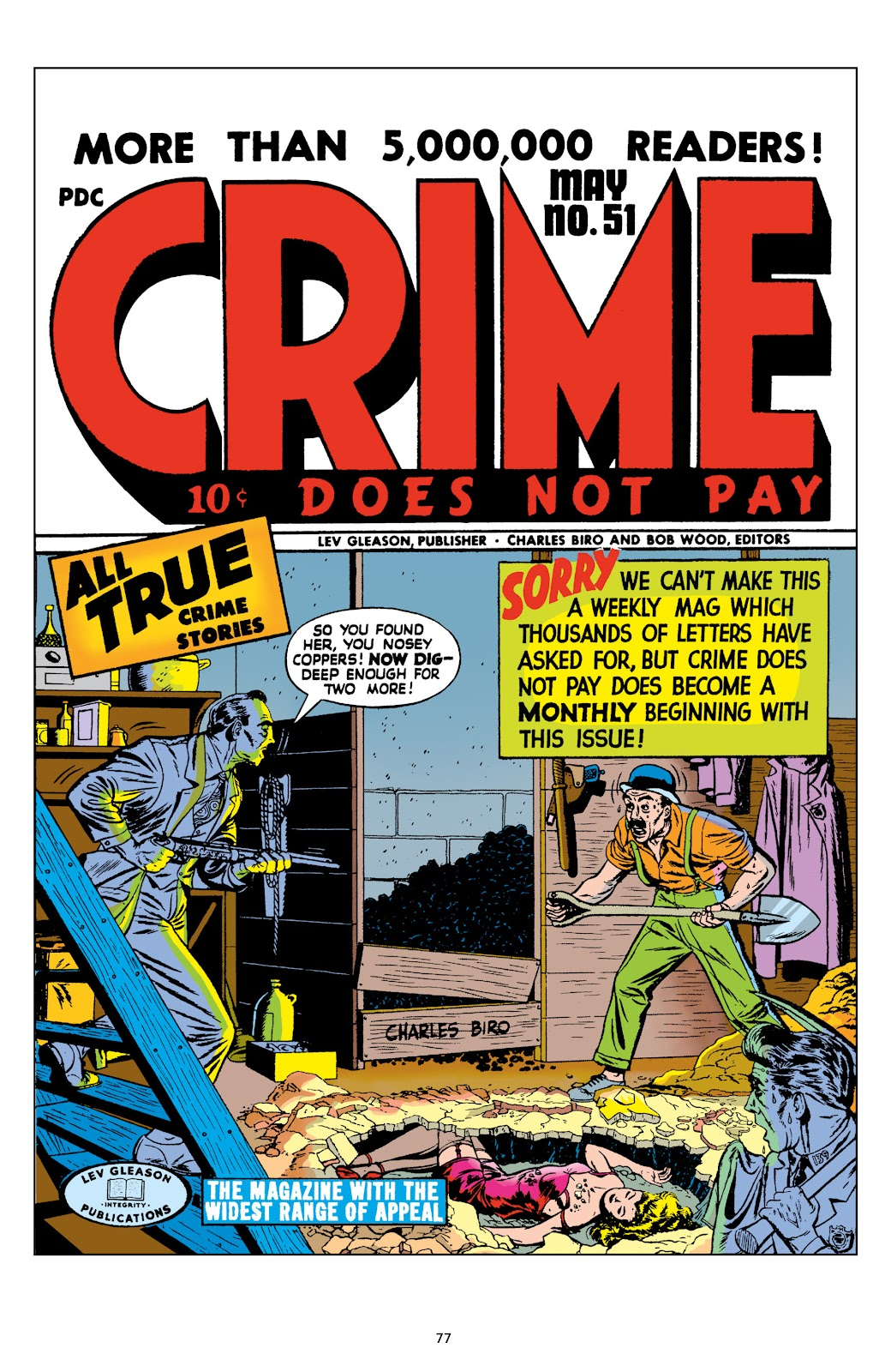 Read online Crime Does Not Pay Archives comic -  Issue # TPB 8 (Part 1) - 78