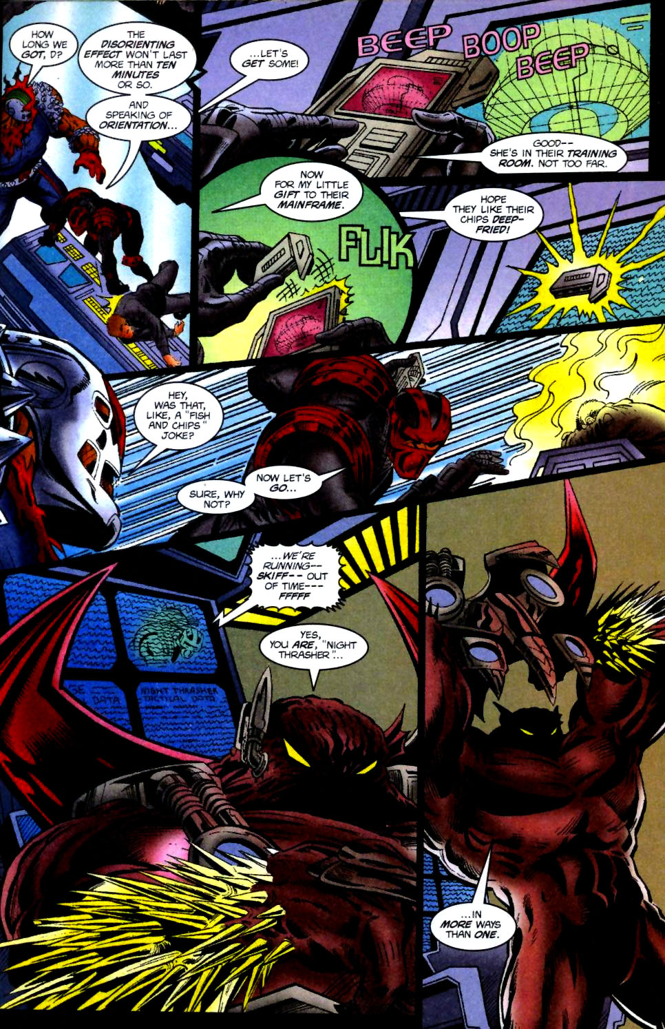 The New Warriors Issue #74 #78 - English 15