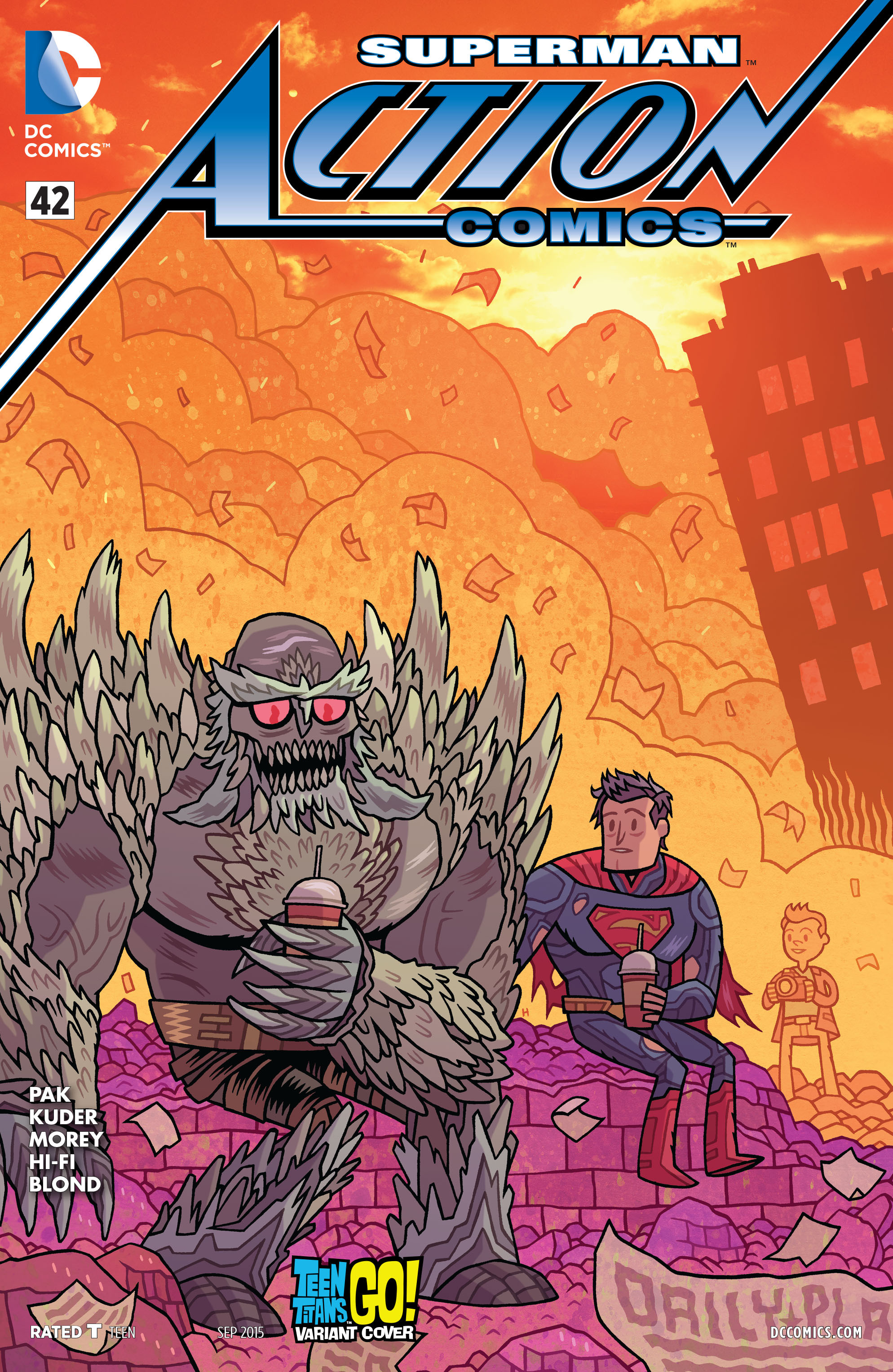 Read online Action Comics (2011) comic -  Issue #42 - 3