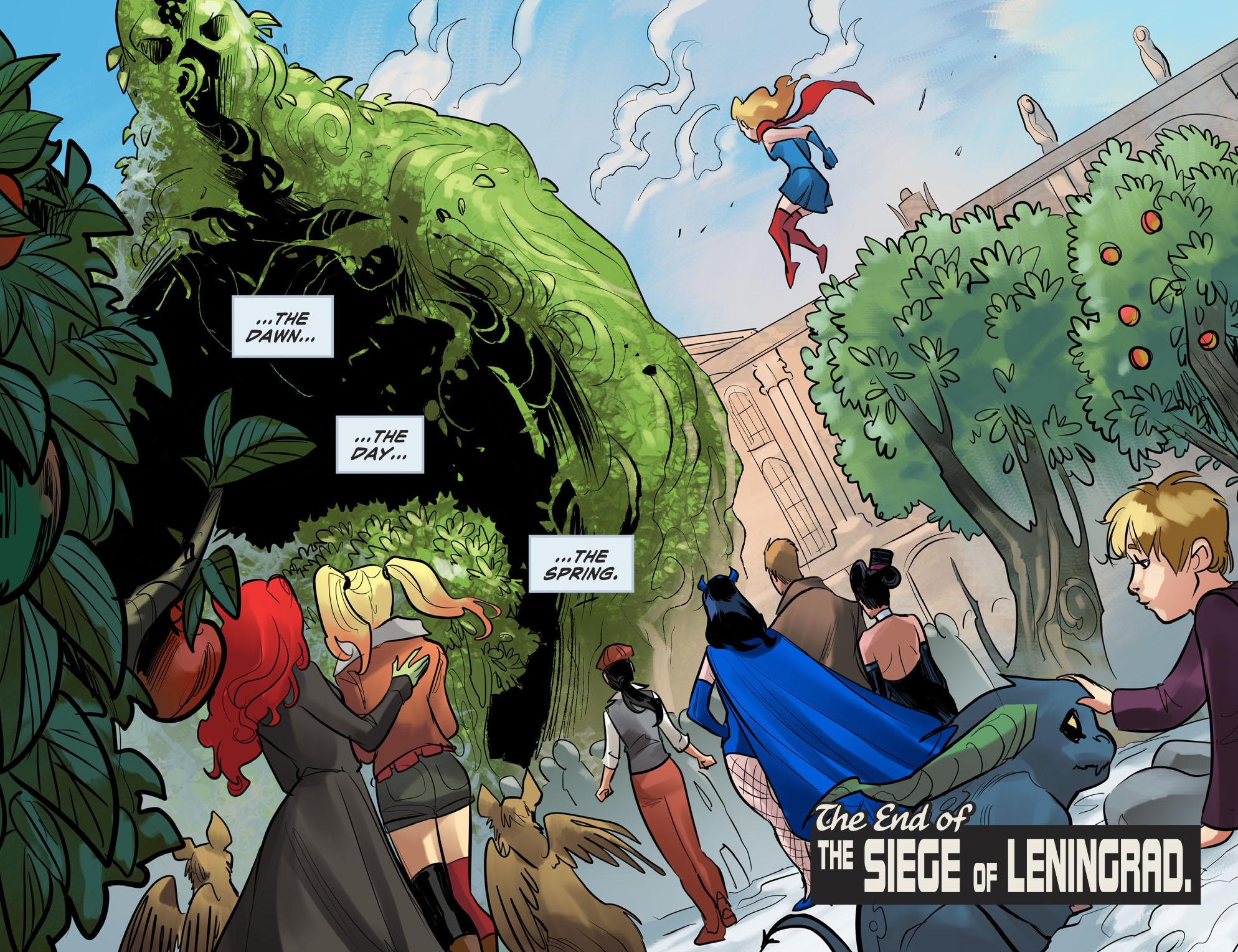 Read online DC Comics: Bombshells comic -  Issue #100 - 21