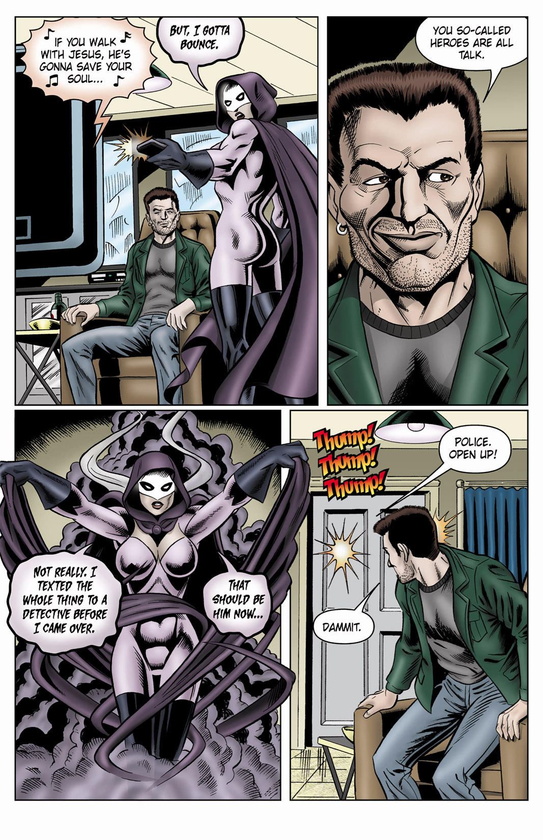 Read online SideChicks comic -  Issue #4 - 34