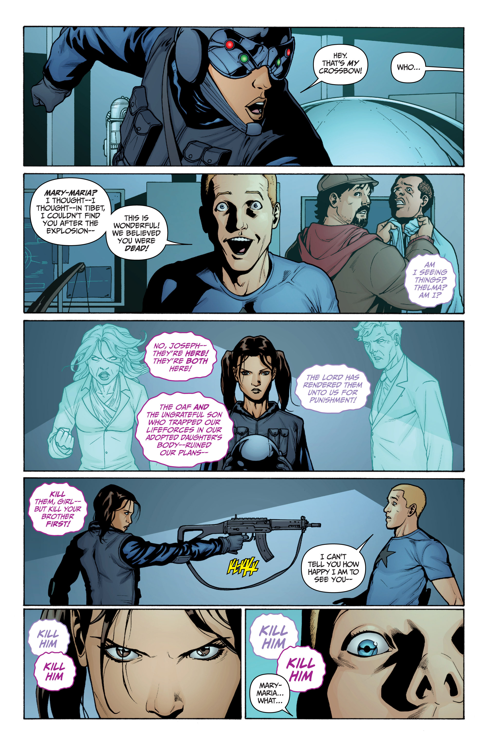 Read online Archer and Armstrong comic -  Issue #10 - 21