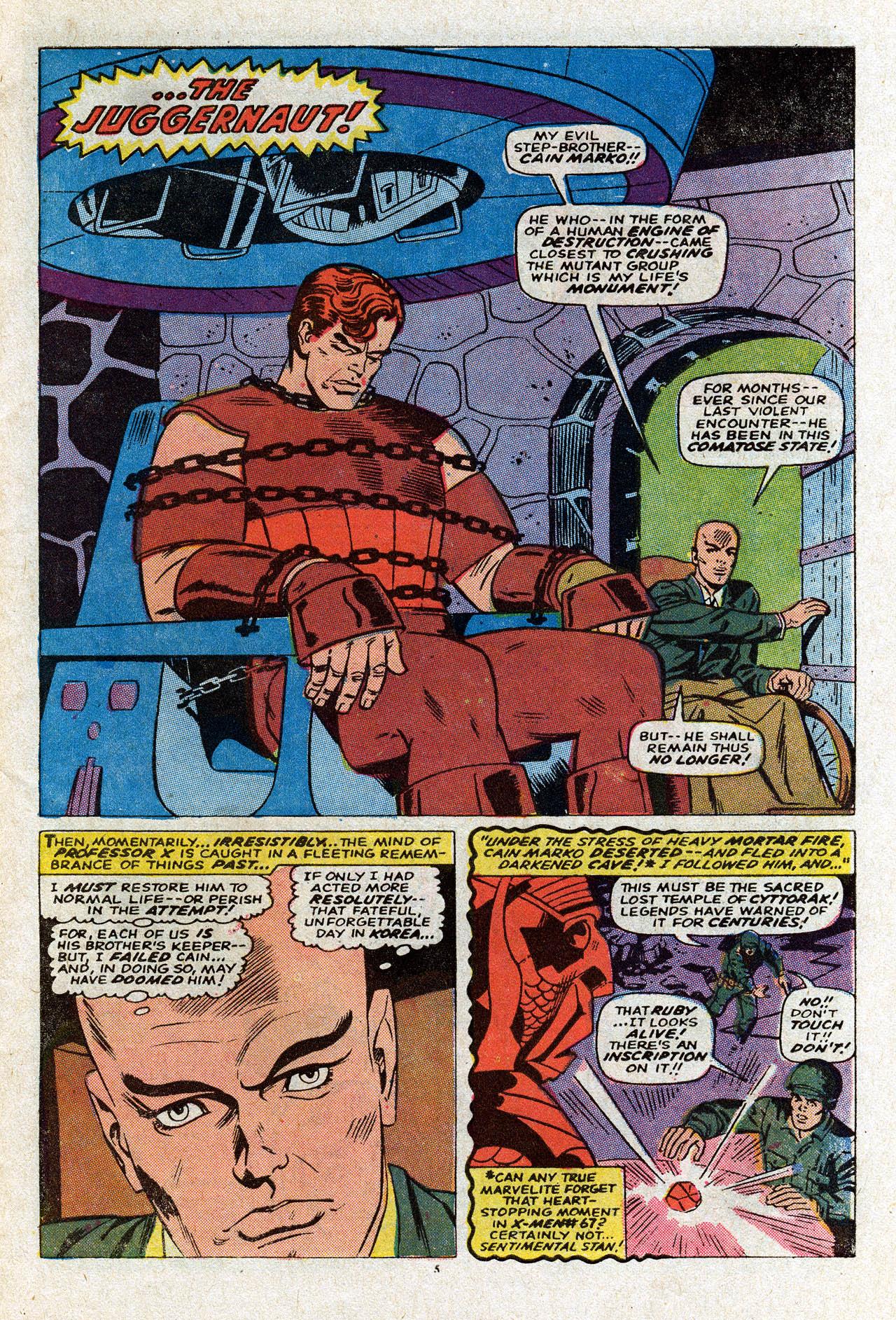 Uncanny X-Men (1963) 80 Page 6