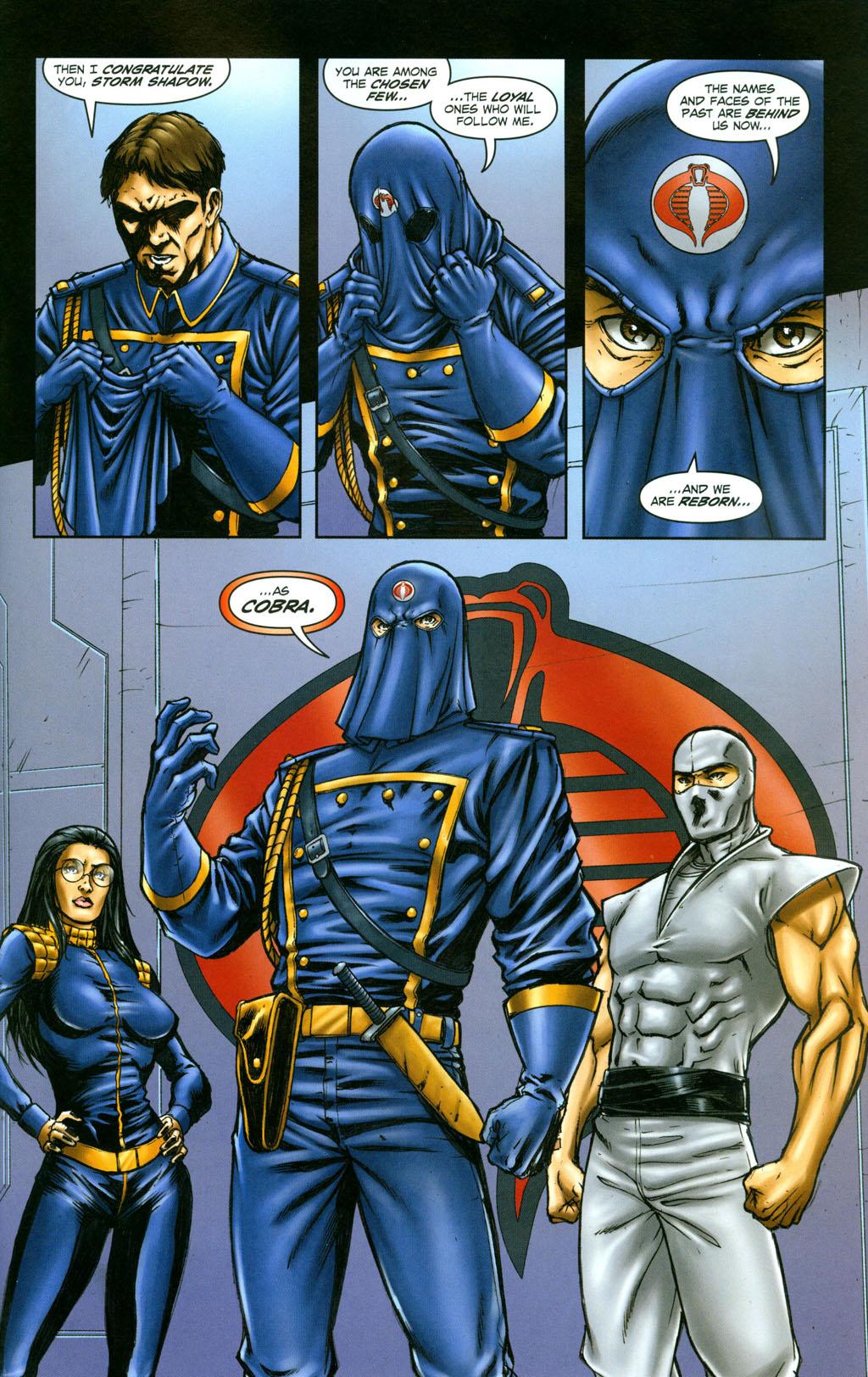 Read online Snake Eyes: Declassified comic -  Issue #6 - 20