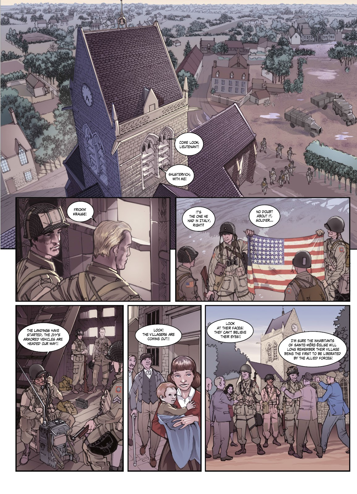 Read online Opération Overlord comic -  Issue #1 - 46