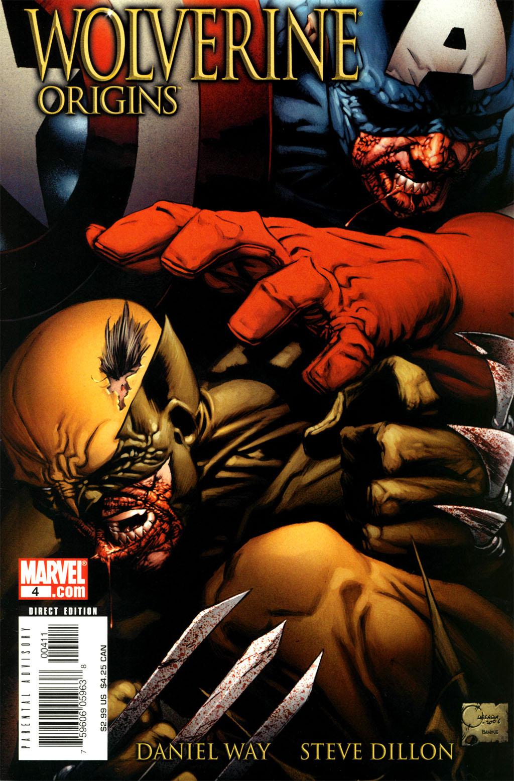 Read online Wolverine: Origins comic -  Issue #4 - 2