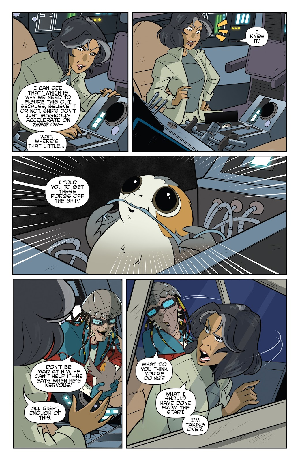 Read online Star Wars Adventures: Flight of the Falcon comic -  Issue # Full - 17