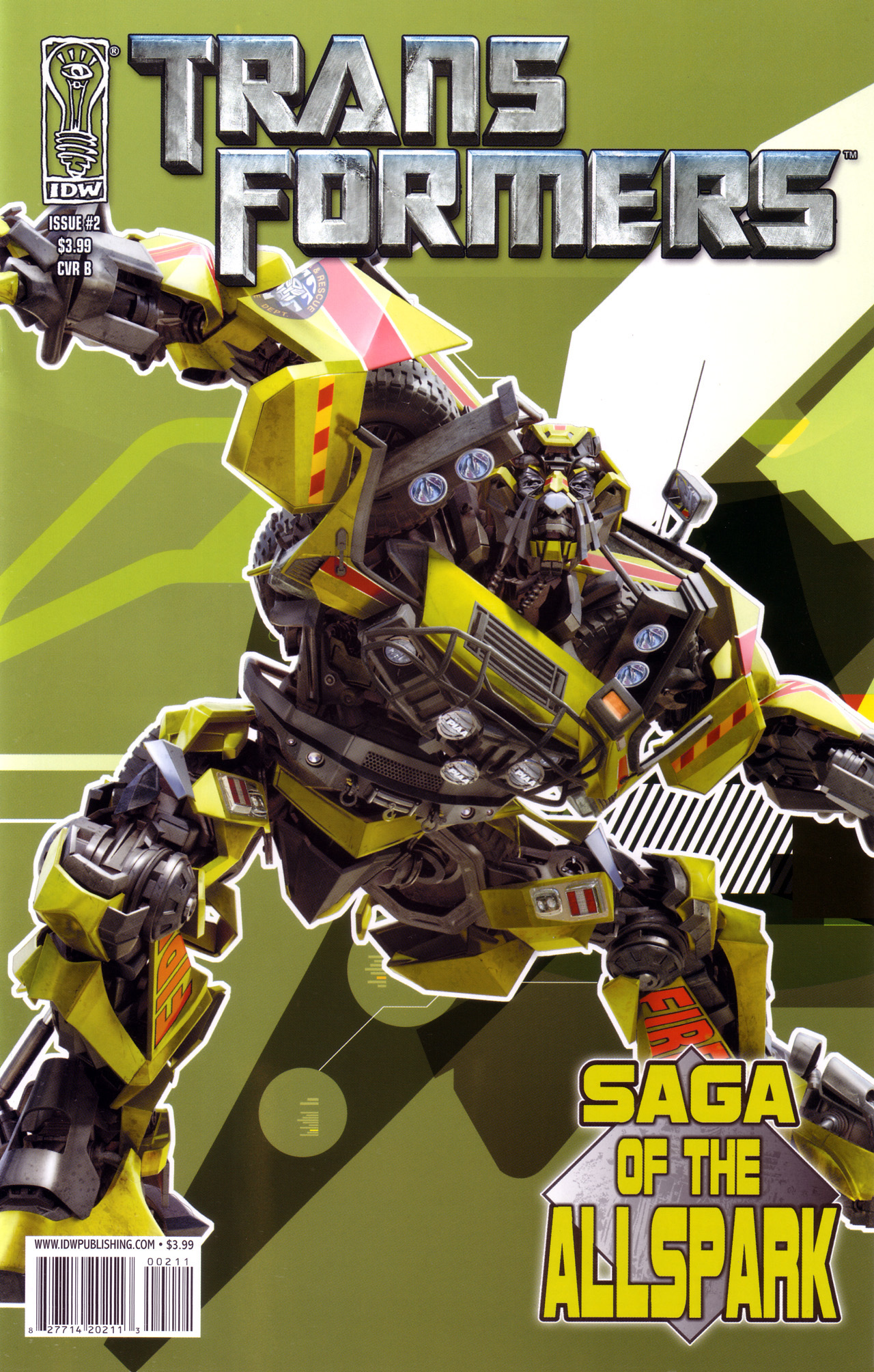 Read online Transformers: Saga of the Allspark comic -  Issue #2 - 2
