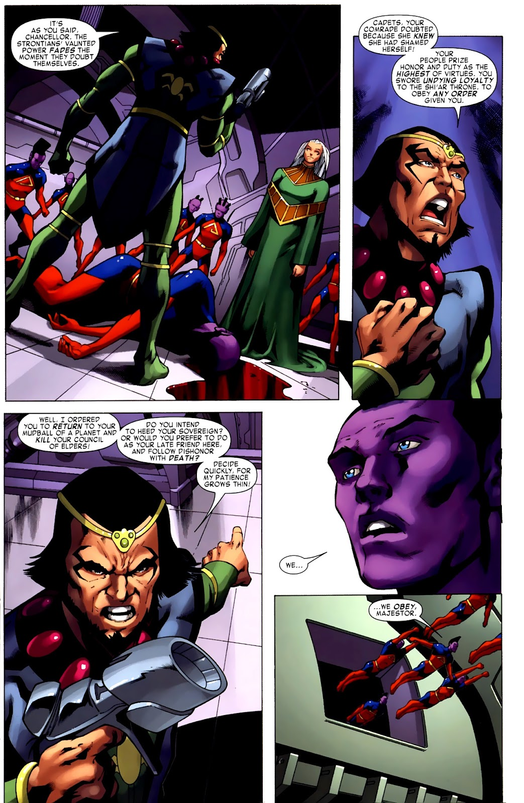 War of Kings: Warriors Issue #1 #1 - English 12