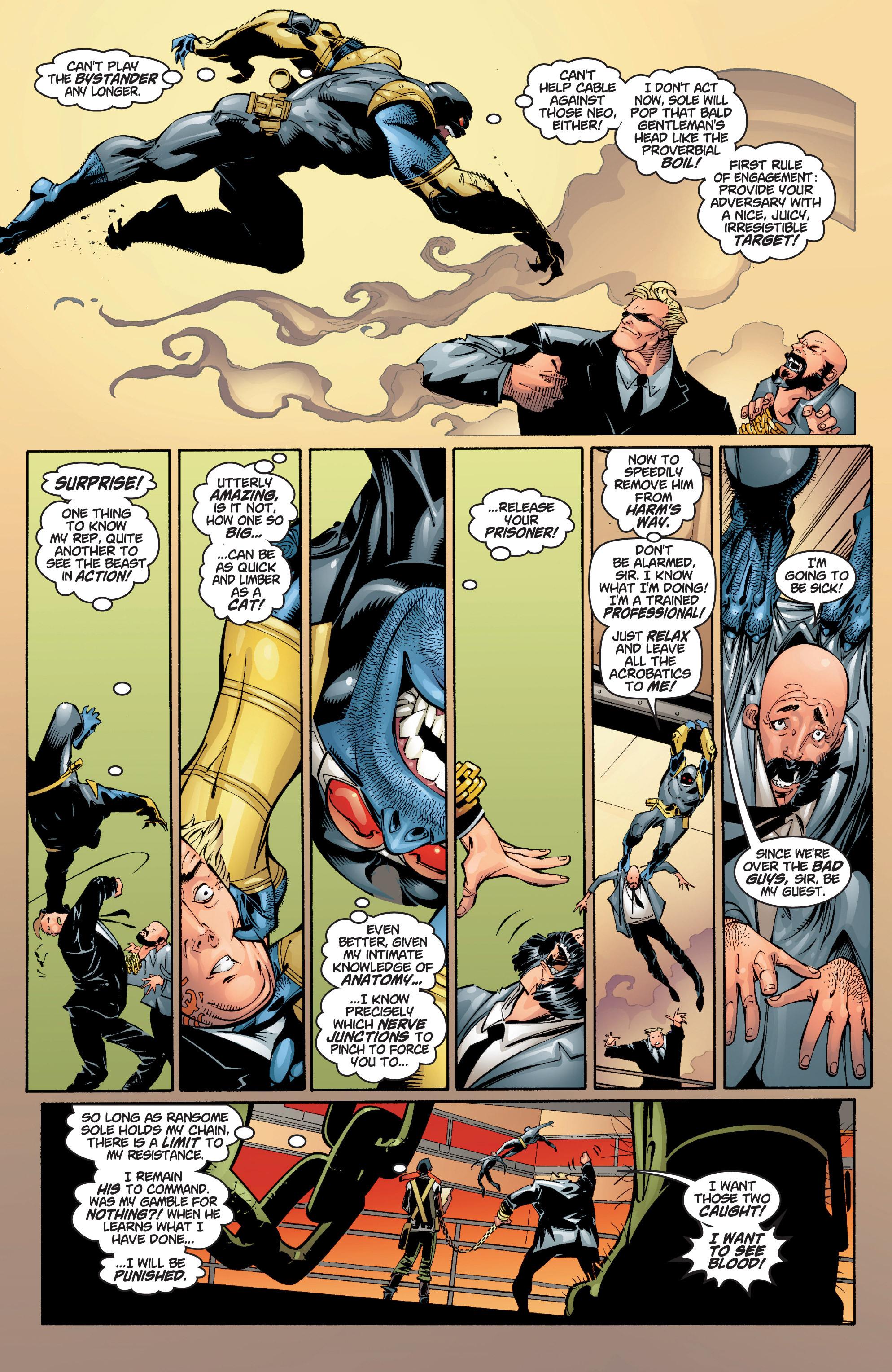 Read online Uncanny X-Men (1963) comic -  Issue #383 - 27