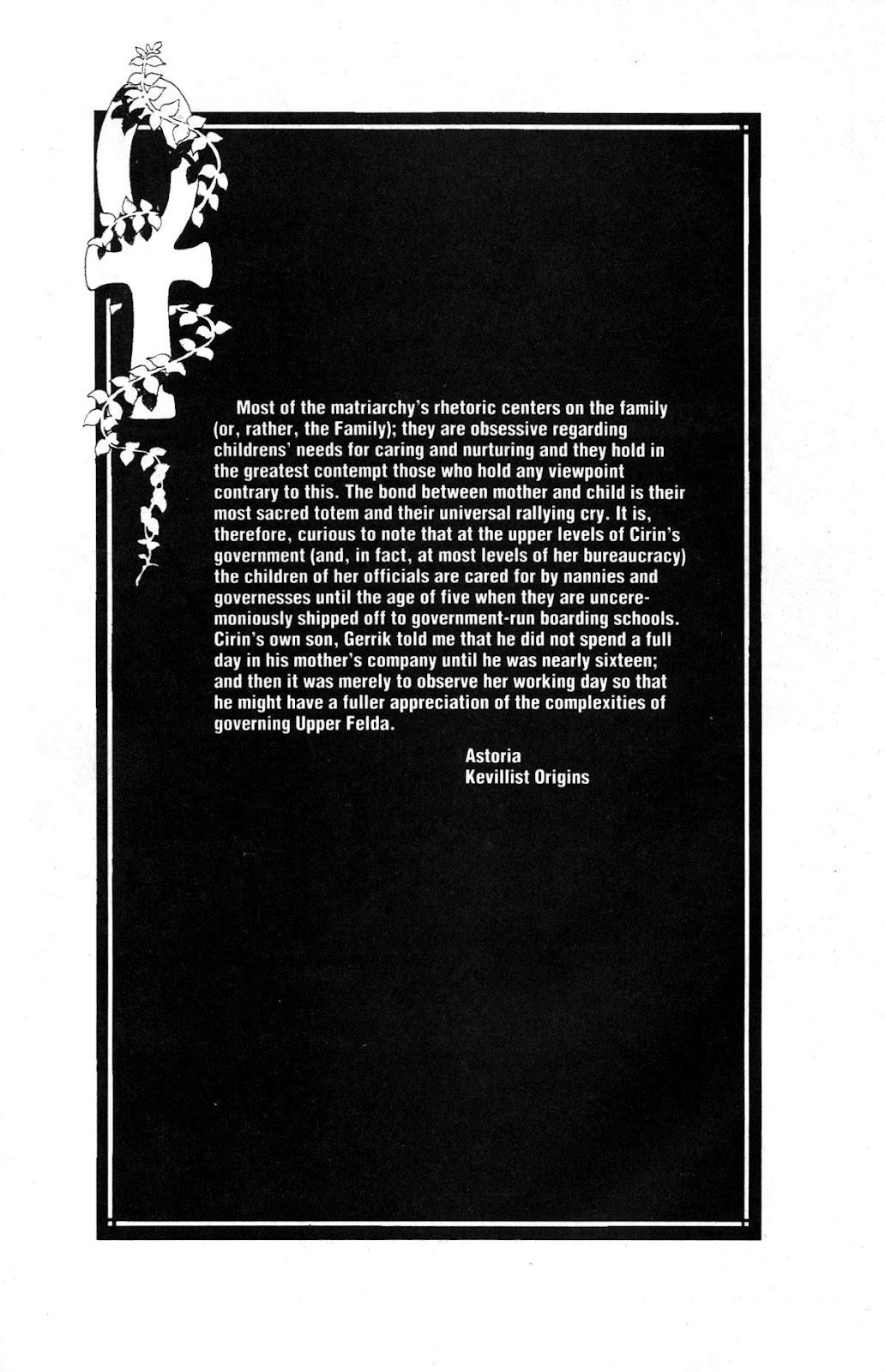 Cerebus Issue #163 #162 - English 20