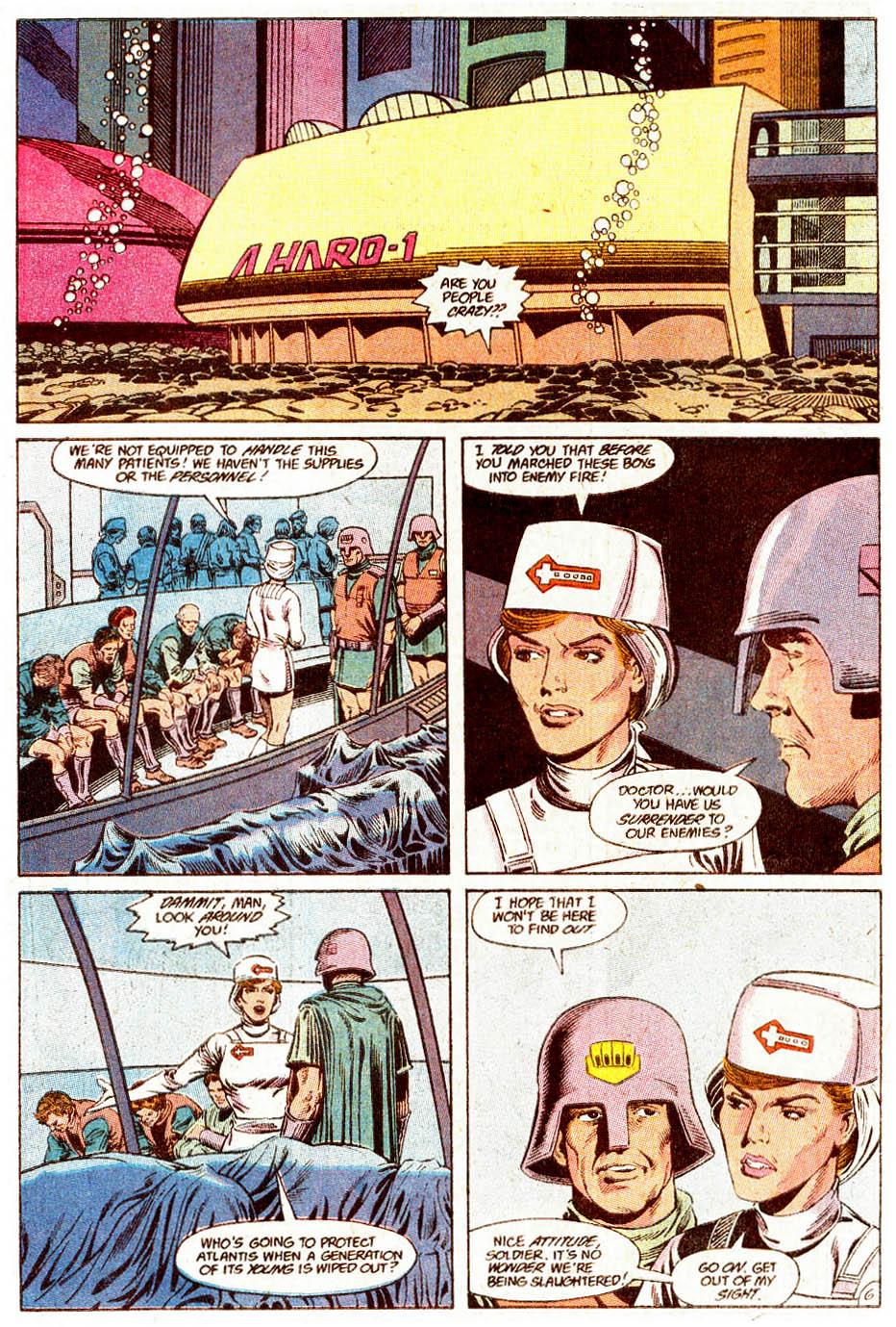 Read online Aquaman (1989) comic -  Issue #5 - 7