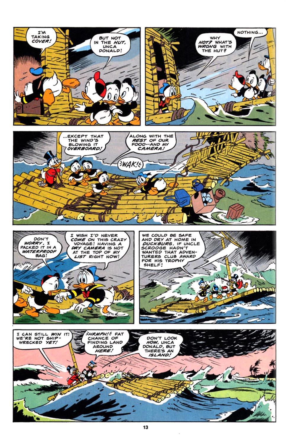 Read online Uncle Scrooge (1953) comic -  Issue #244 - 15