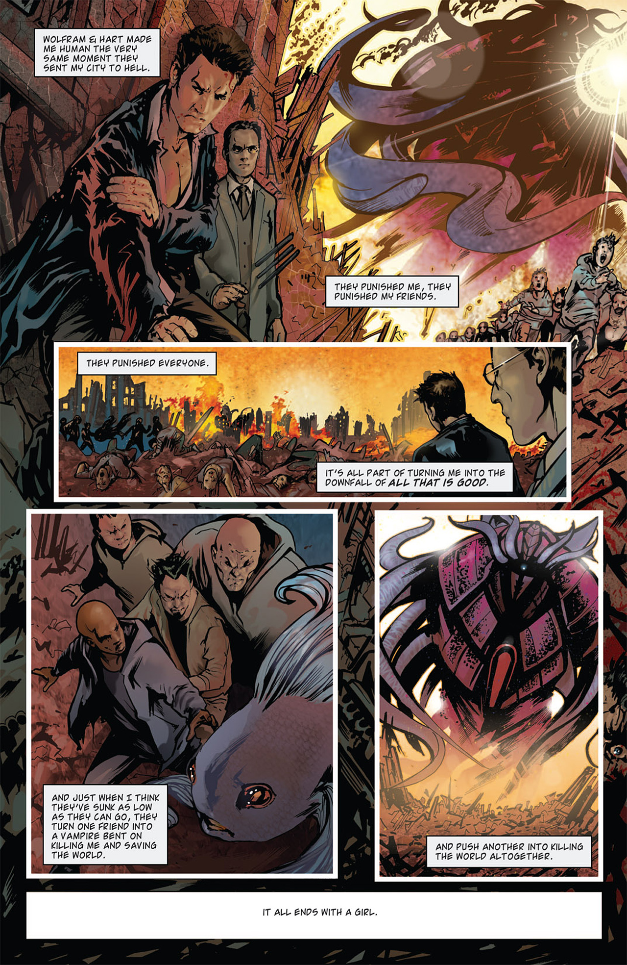 Read online Angel: After The Fall comic -  Issue #15 - 4
