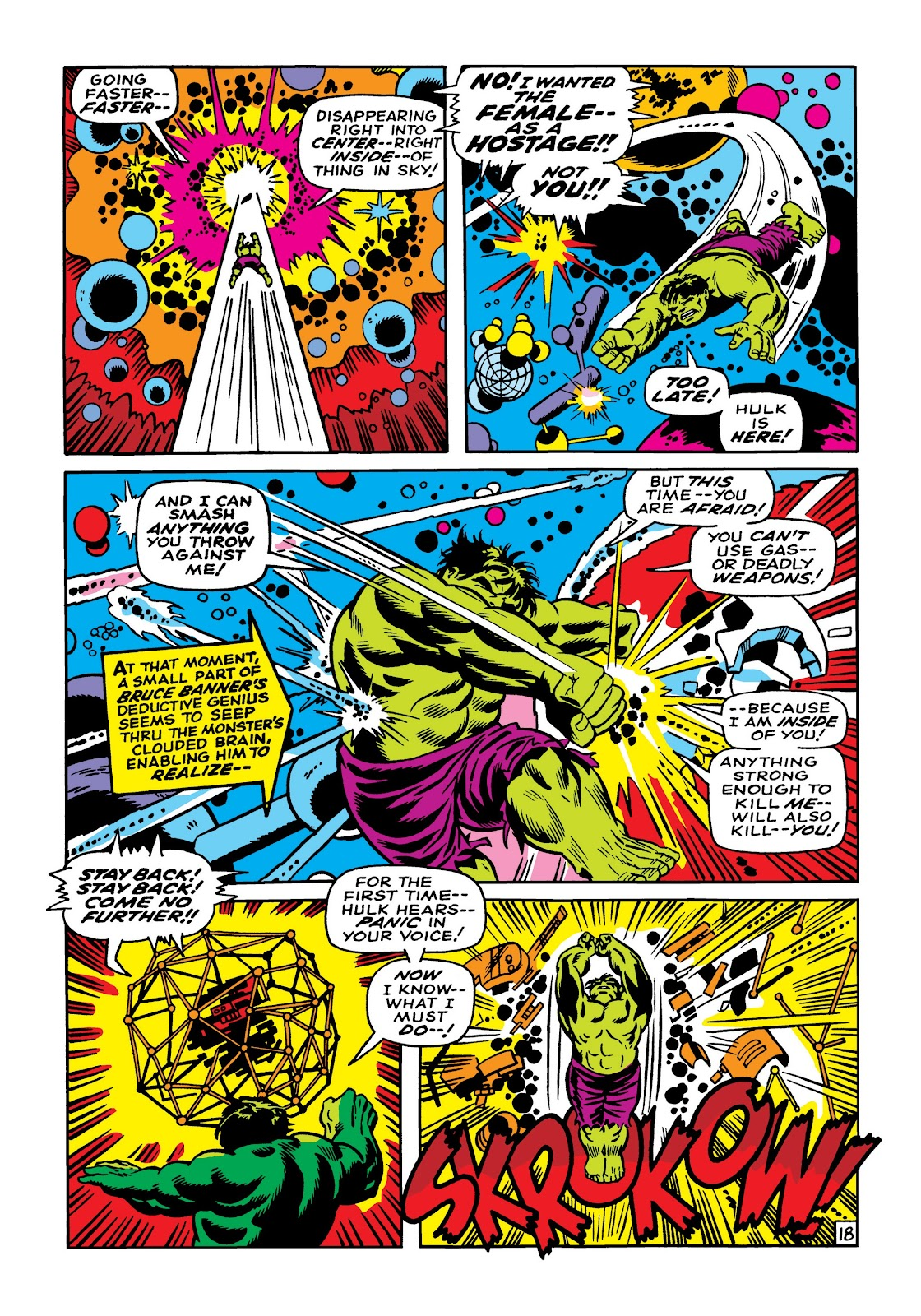 Read online Marvel Masterworks: The Incredible Hulk comic -  Issue # TPB 5 (Part 1) - 45