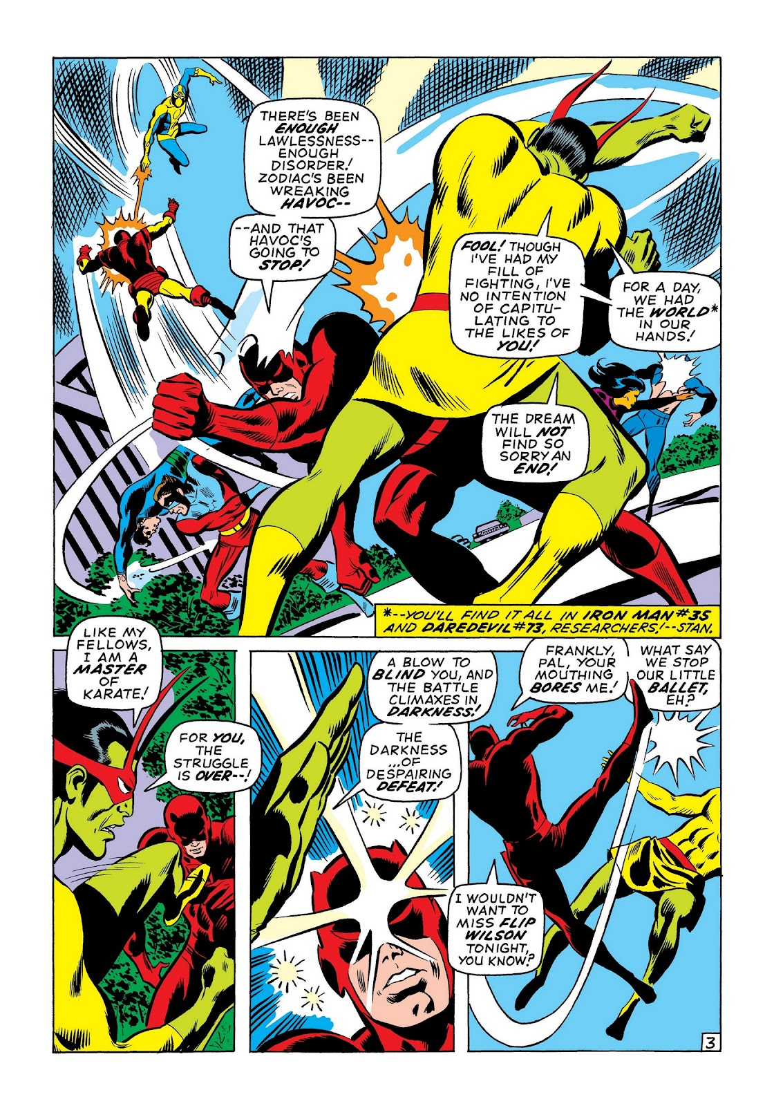 Read online Marvel Masterworks: The Invincible Iron Man comic -  Issue # TPB 7 (Part 3) - 32