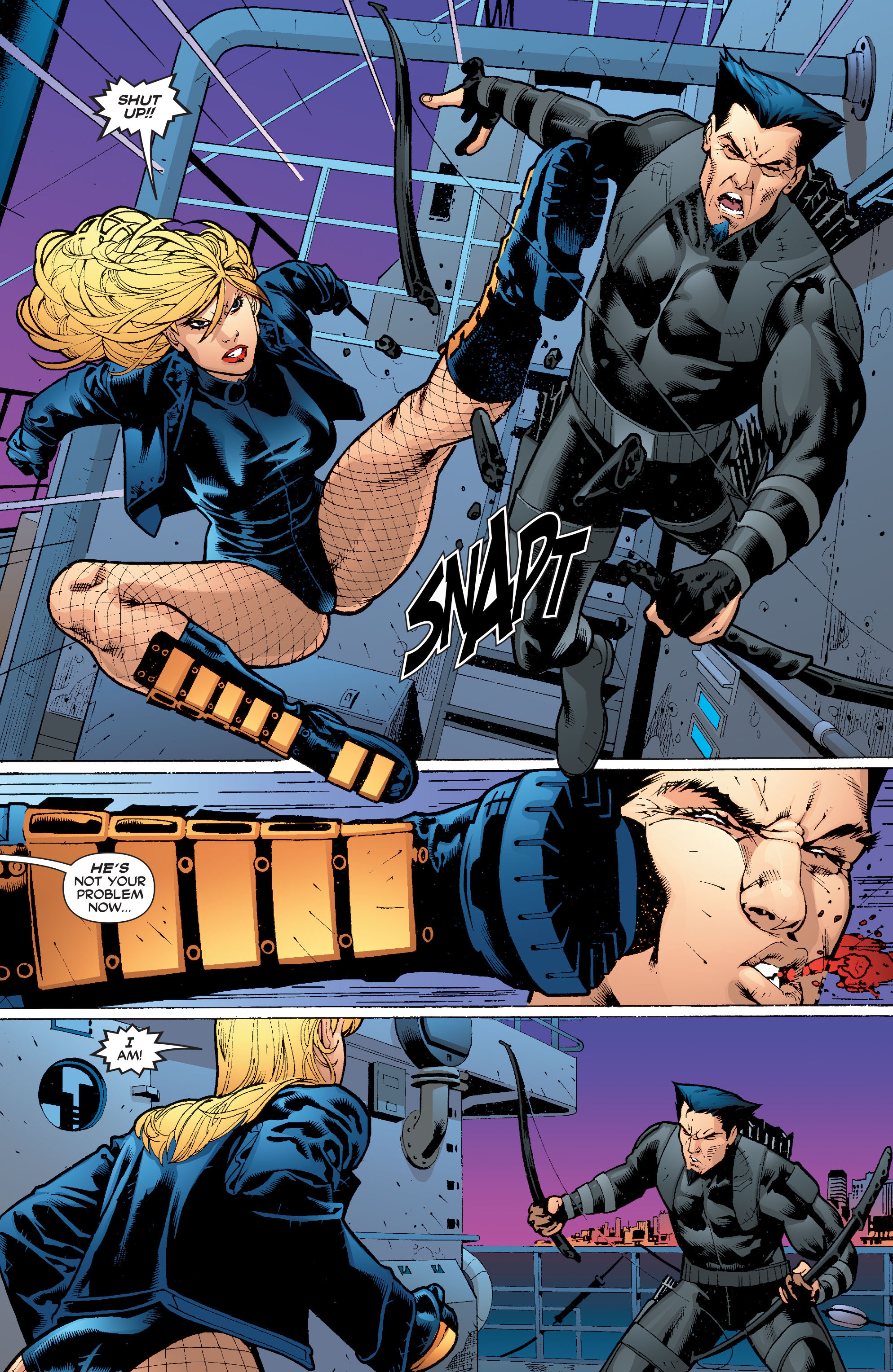 Read online Black Canary (2007) comic -  Issue #4 - 9