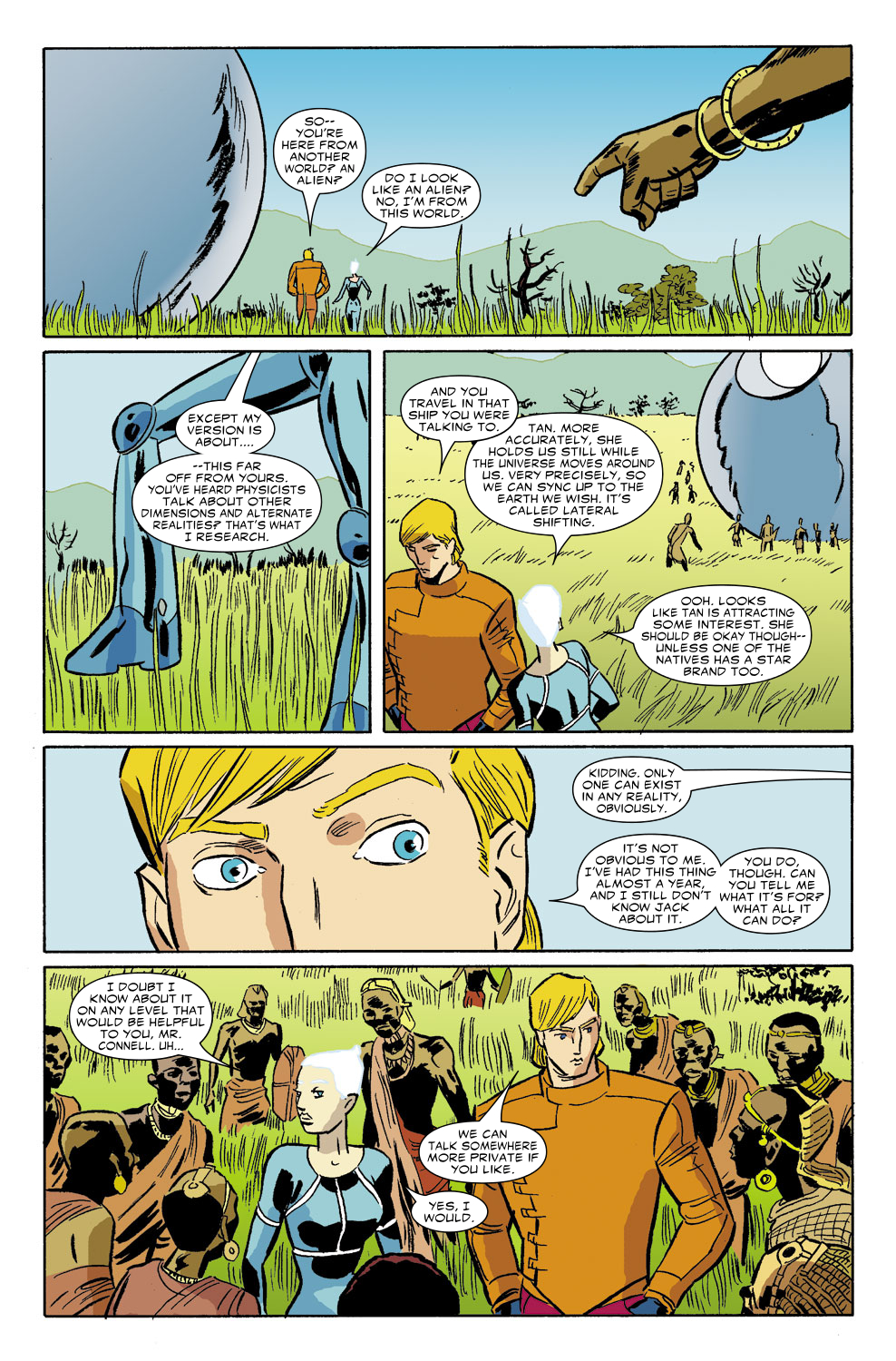 Read online Untold Tales Of The New Universe: Star Brand comic -  Issue # Full - 15