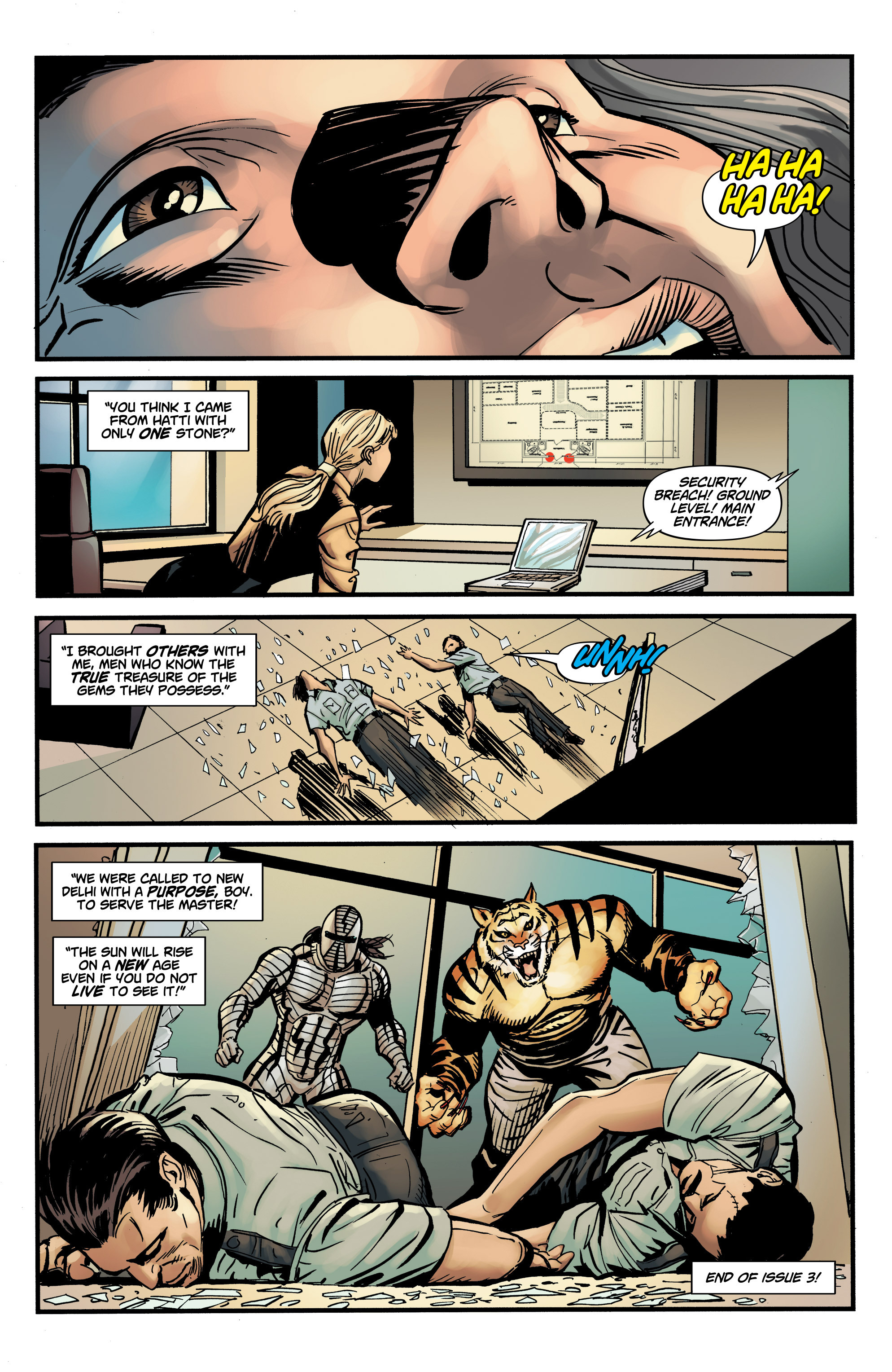 Read online Shadow Tiger comic -  Issue #3 - 24