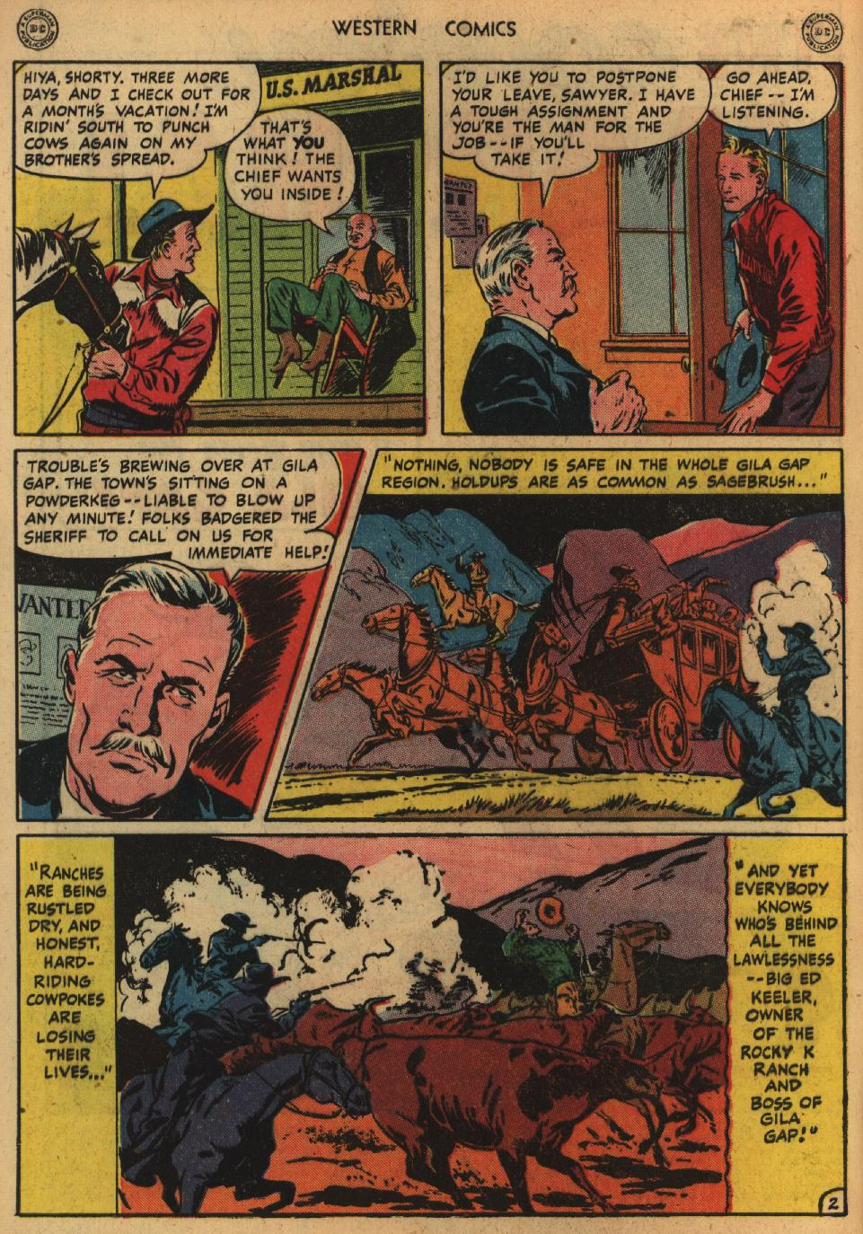 Western Comics issue 1 - Page 4